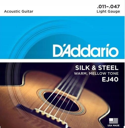 D'addario EJ40 11-47 struny do gitary akustycznej
