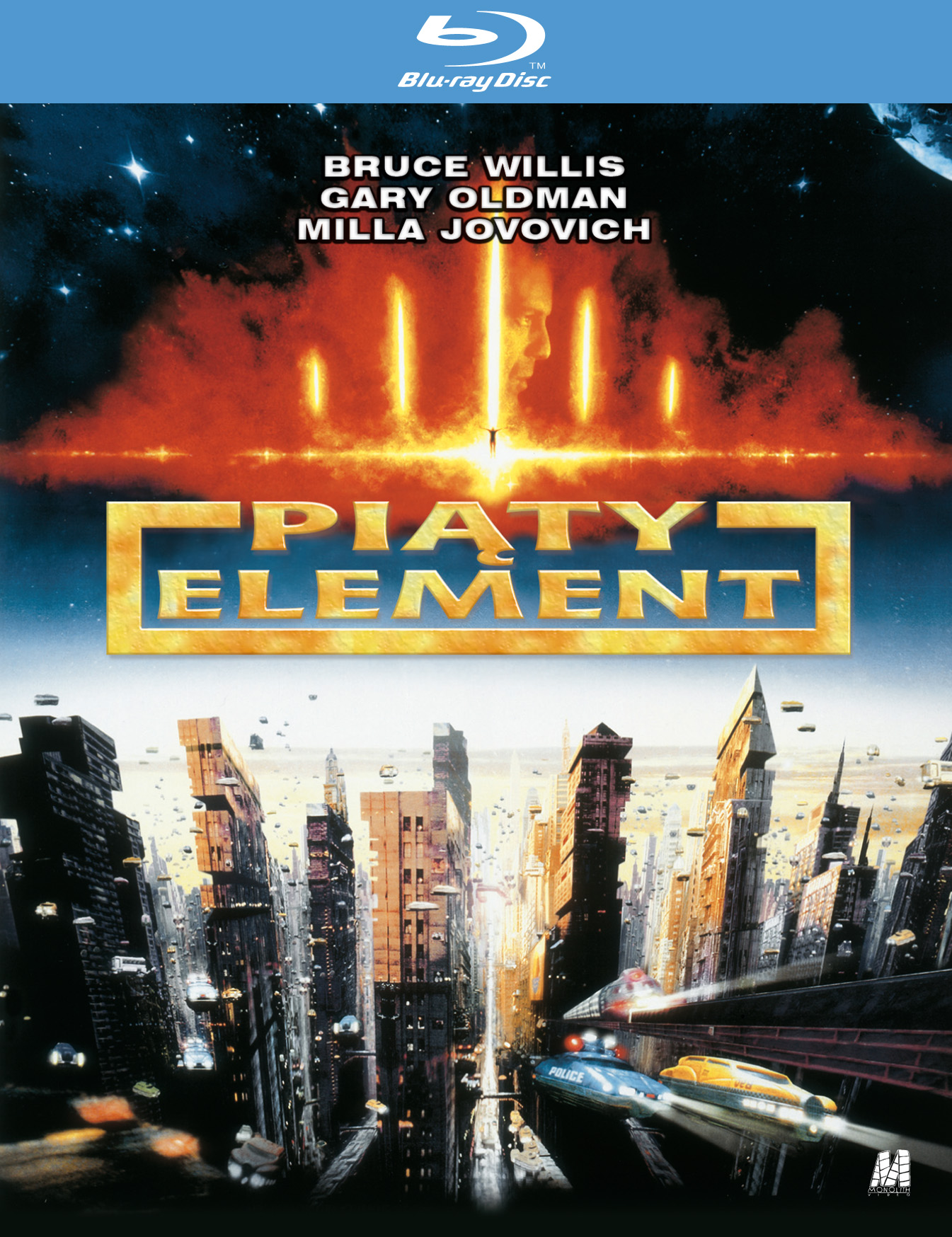 [BLU-RAY] PIĄTY ELEMENT - Bruce Willis (folia)
