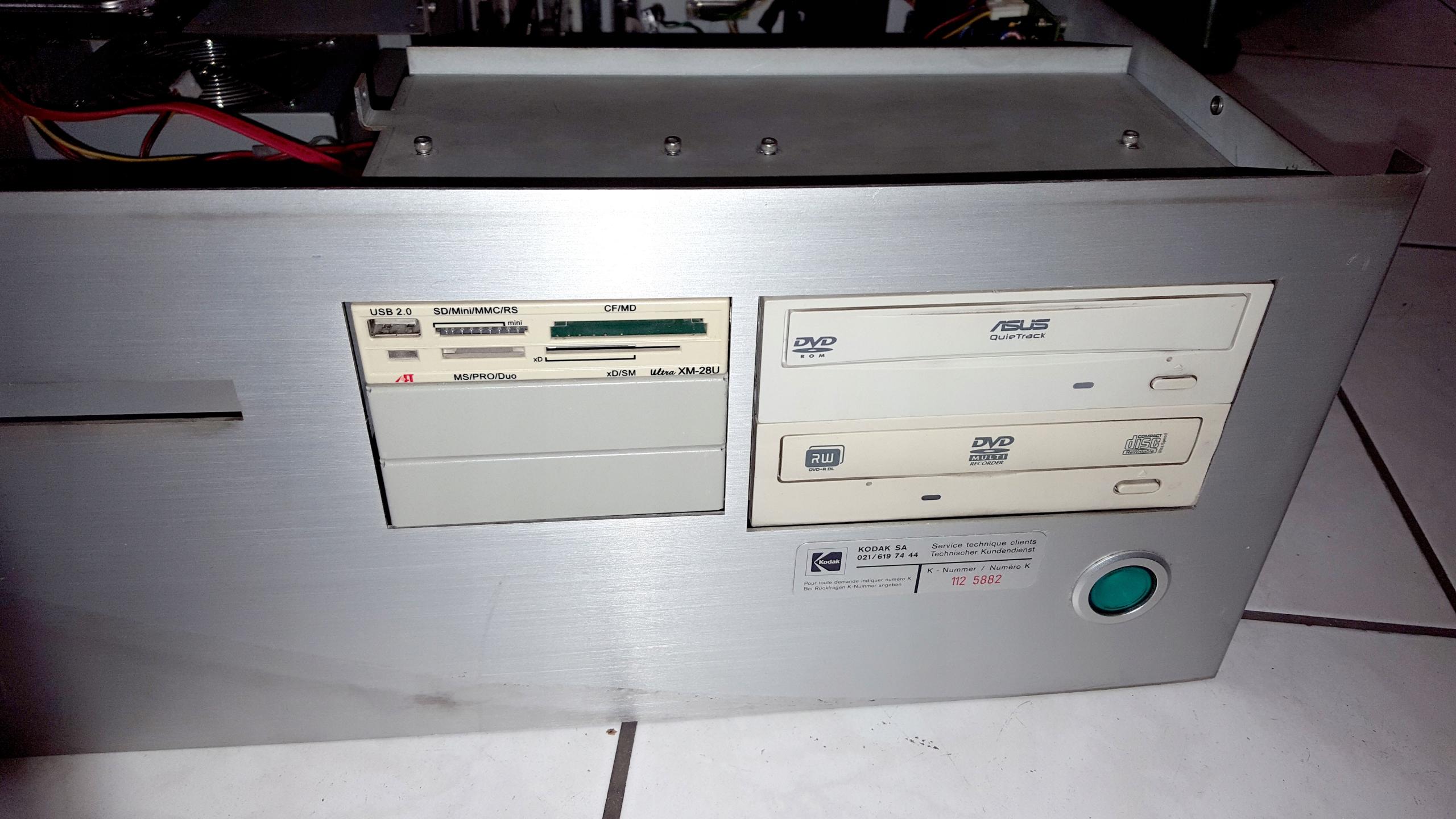 Gretag 1008 komputer