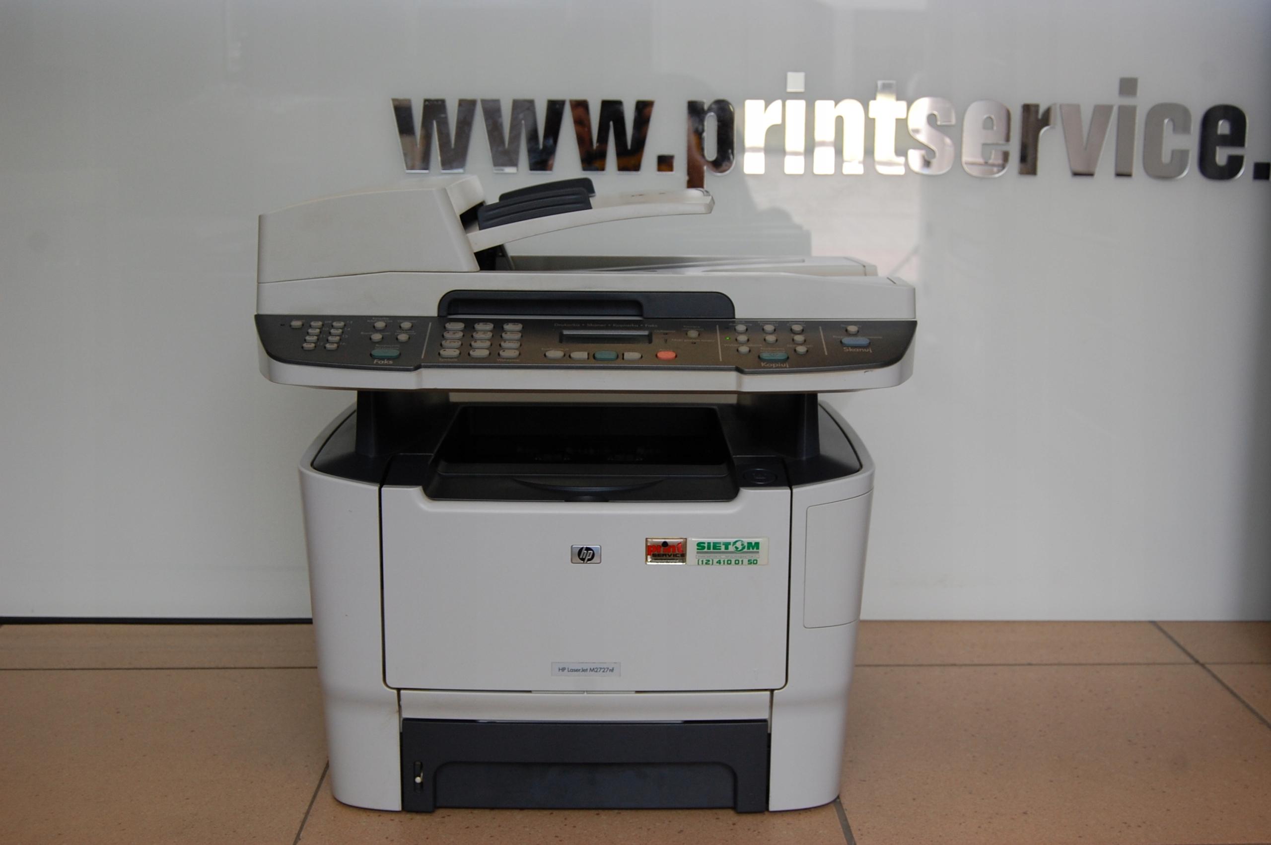Xero HP LaserJet N2727nf + Toner GRATIS !