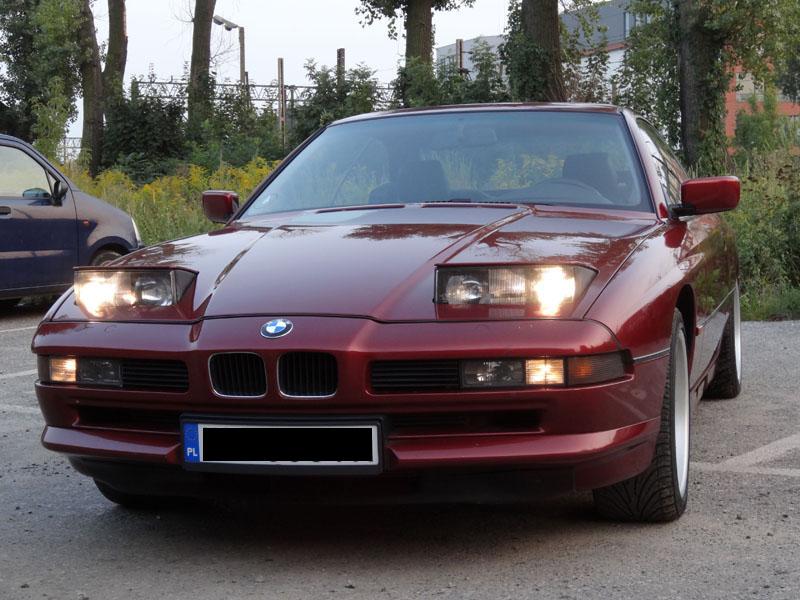 BMW 850i 5.0 V12 zamiana
