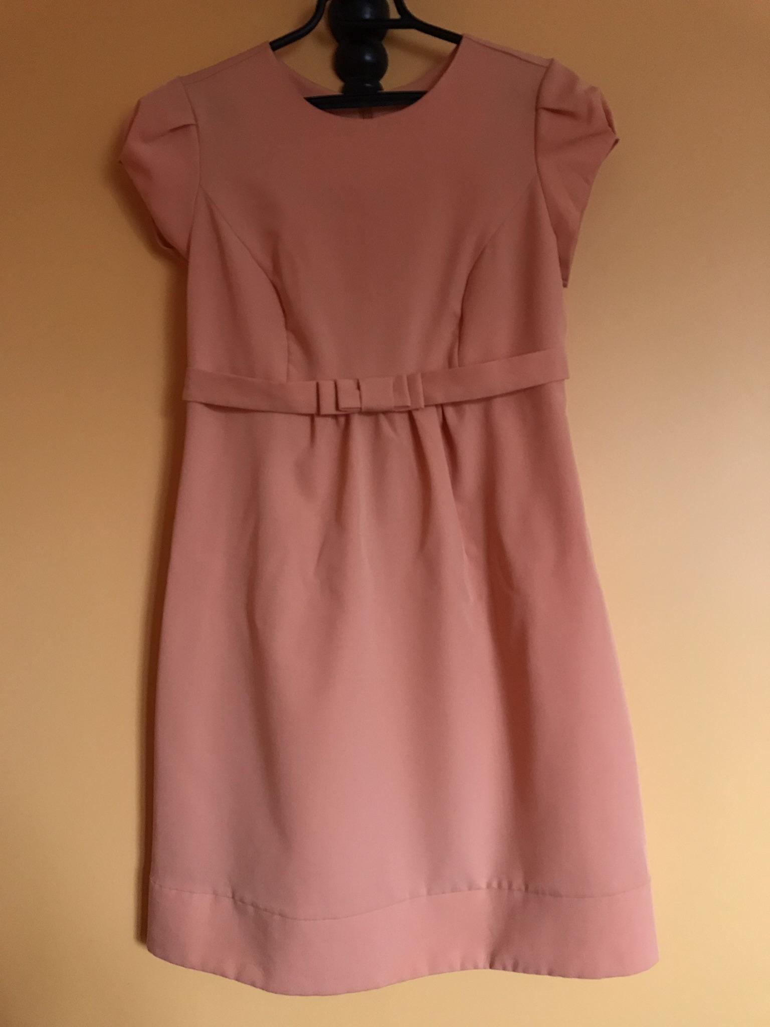 5b5722d0a3 Sukienka pomarańczowa r. 38 M - 7427600426 - oficjalne archiwum allegro
