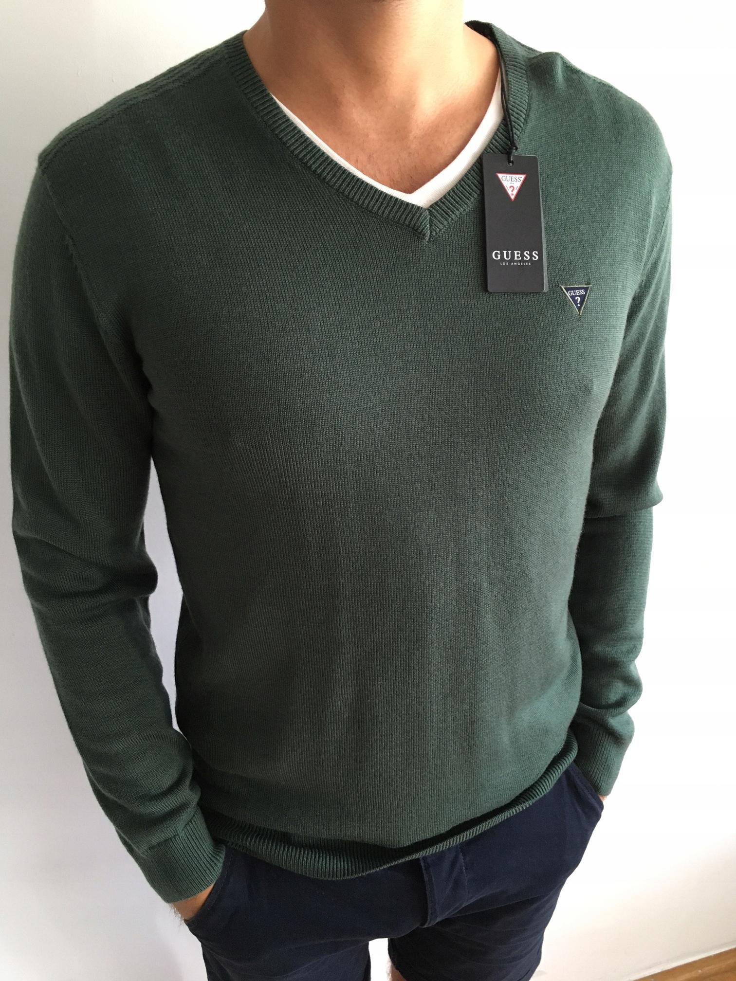 a14591044cfcf Nowy sweter męski Guess z metką