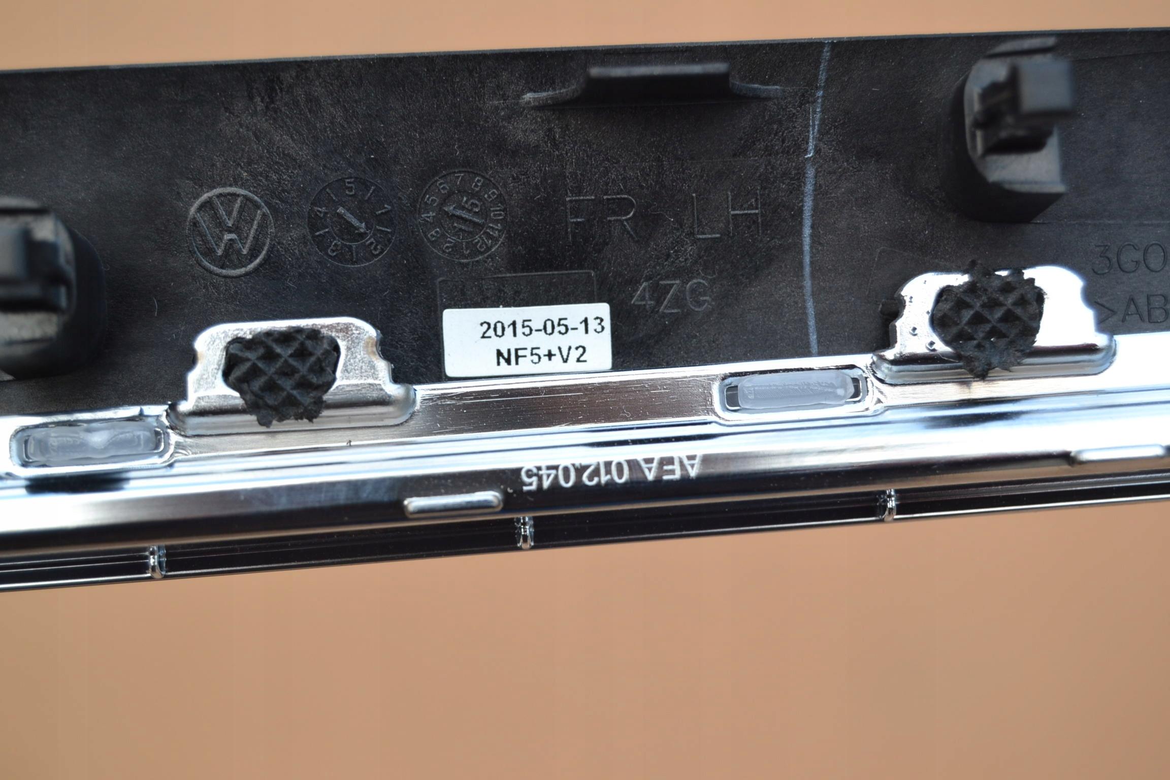 Vw Passat B8 Ambiente Listwy Led Dekory Nf5 7712344978