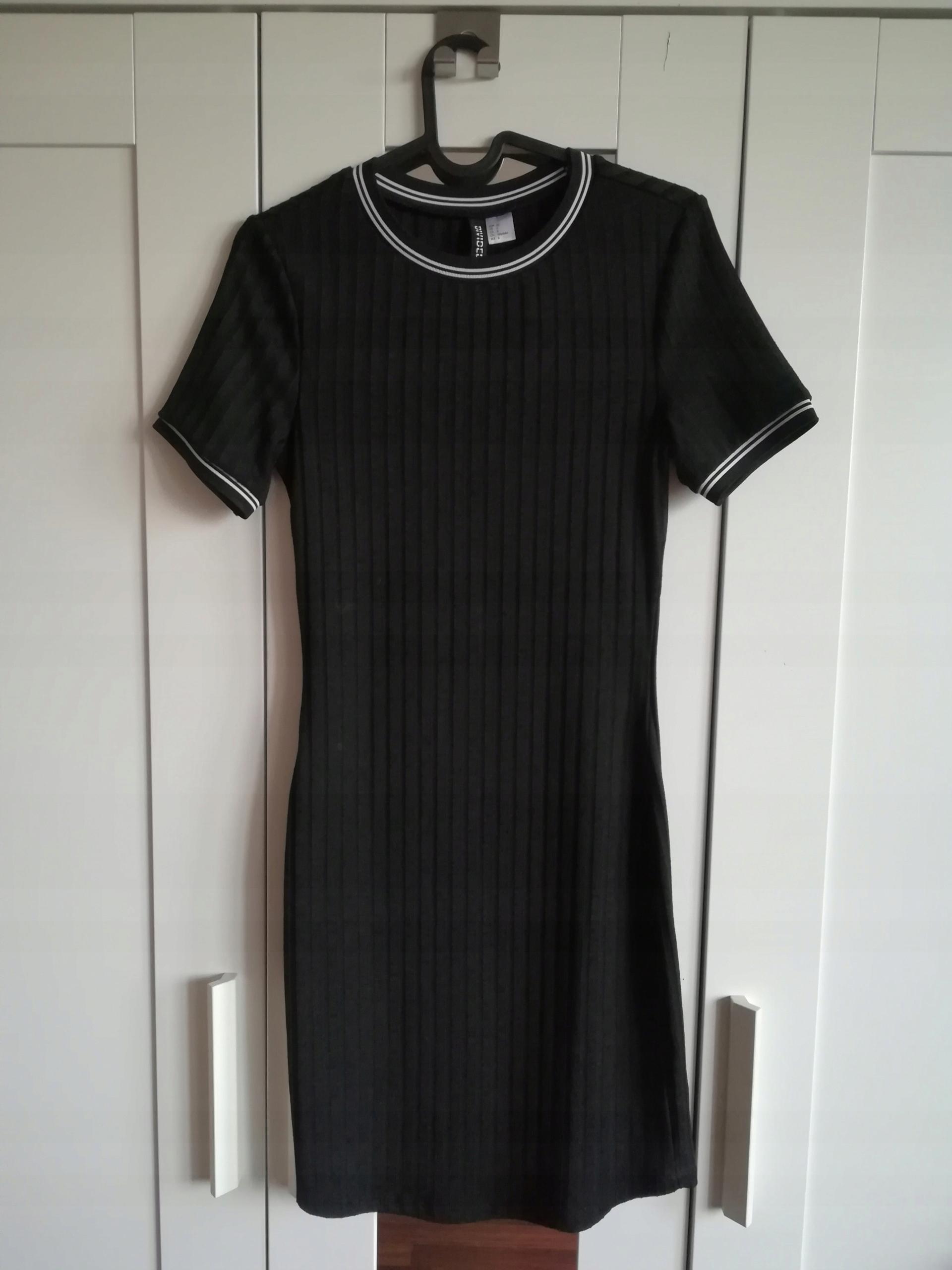 1fcfb4dbea Sukienka H M czarna 36 - 7579092703 - oficjalne archiwum allegro