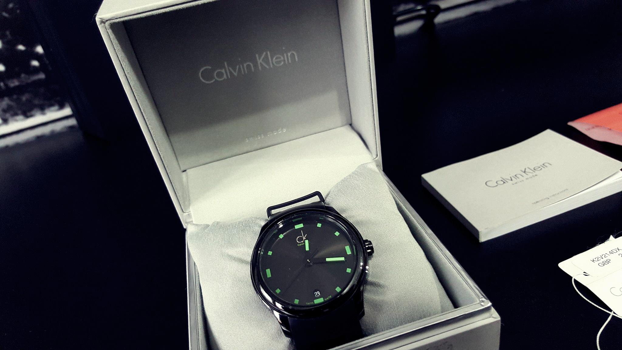 Zegarek Calvin Klein Visible K2V214DX