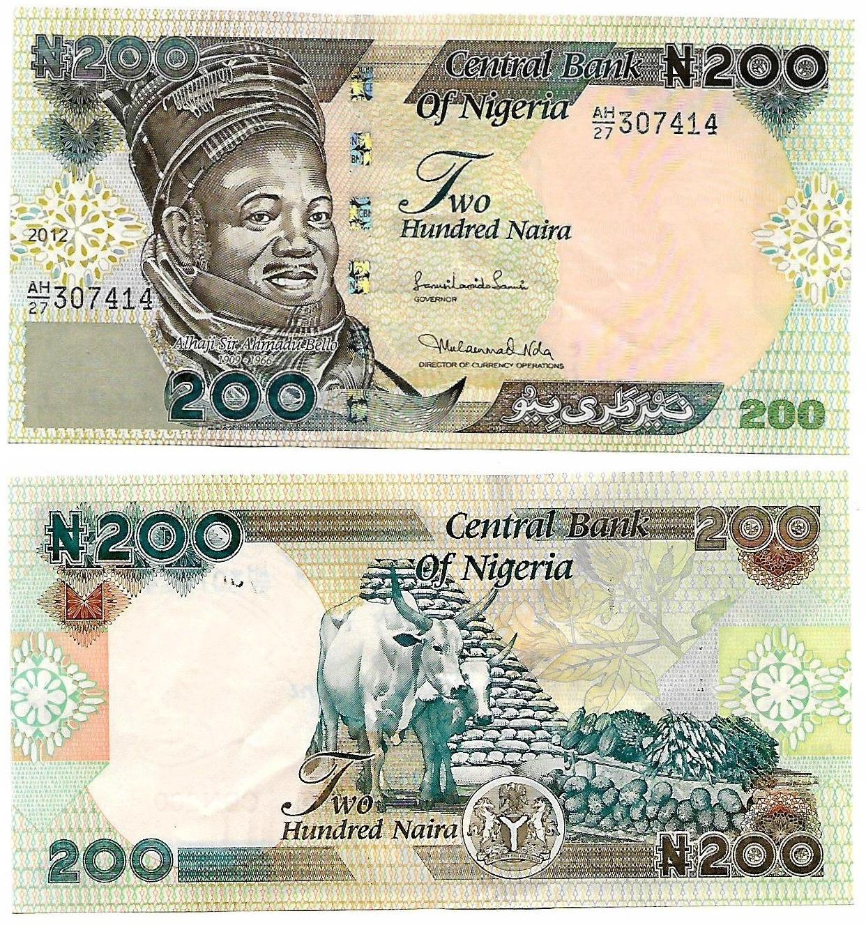 Nigeria 200 Naira 2017 Stan Unc P 29 Najtaniej