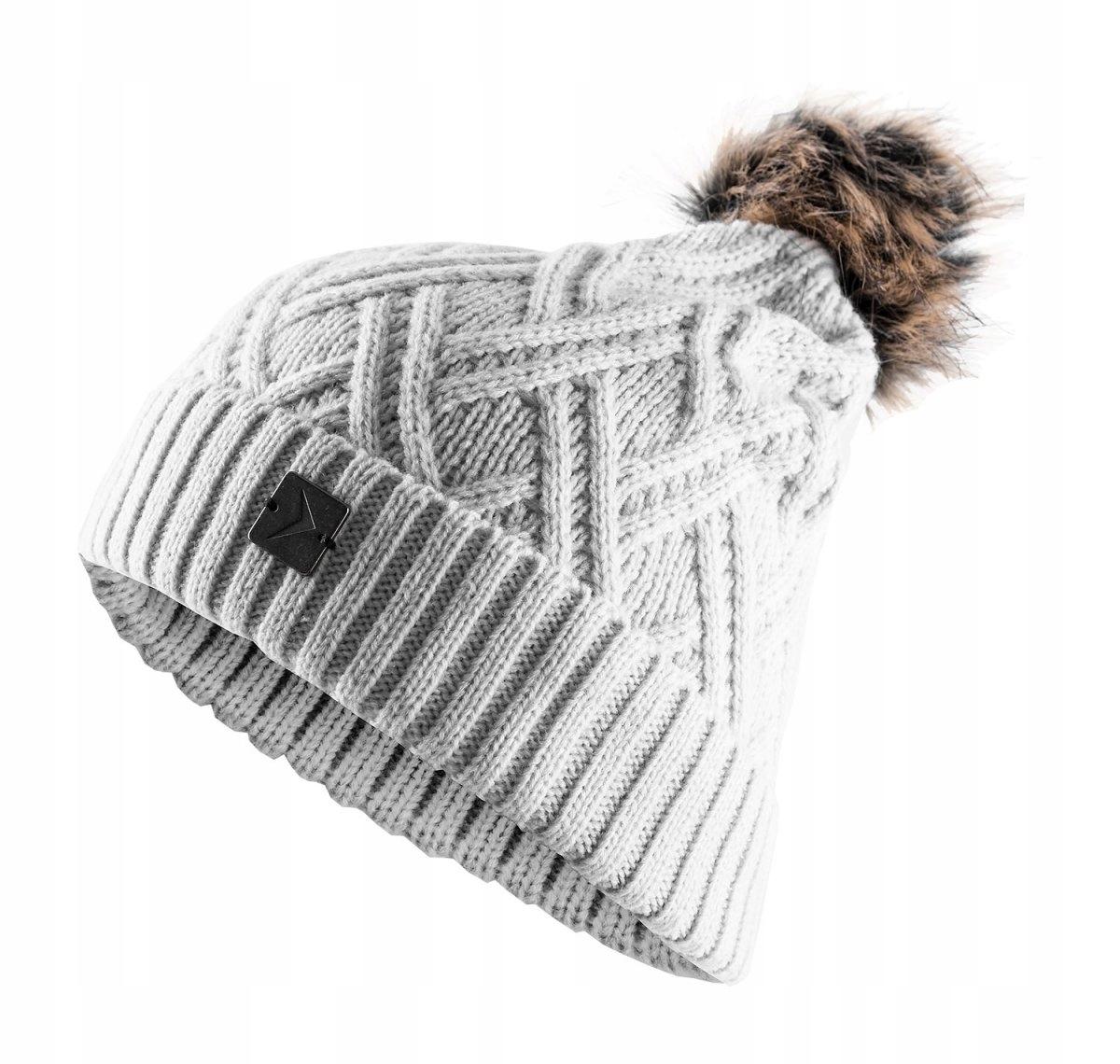447930992 OUTHORN CAD603 czapka damska zimowa S/M - 7601705749 - oficjalne ...