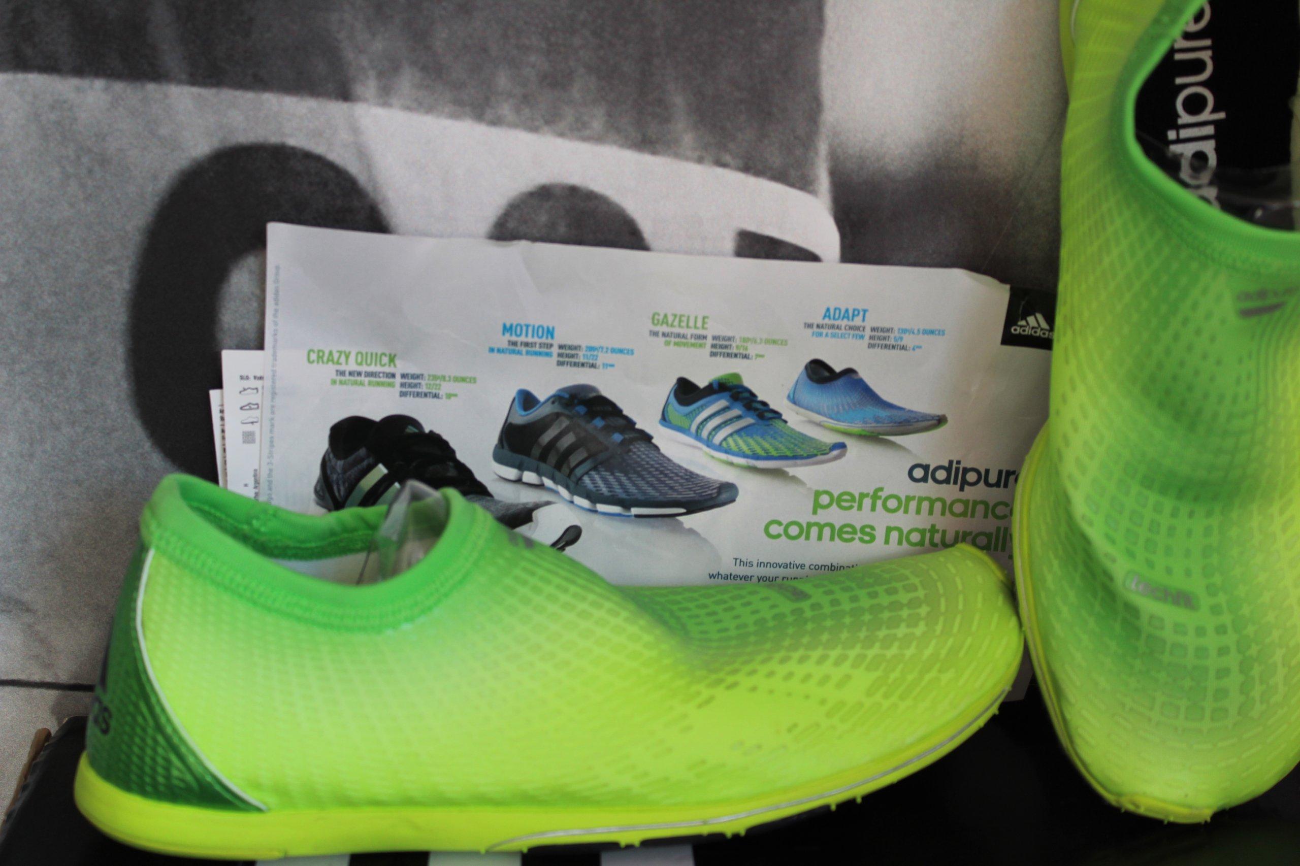 best website 46fb8 ff04a BUTY do biegania Adidas ADIPURE ADAPT 2 M