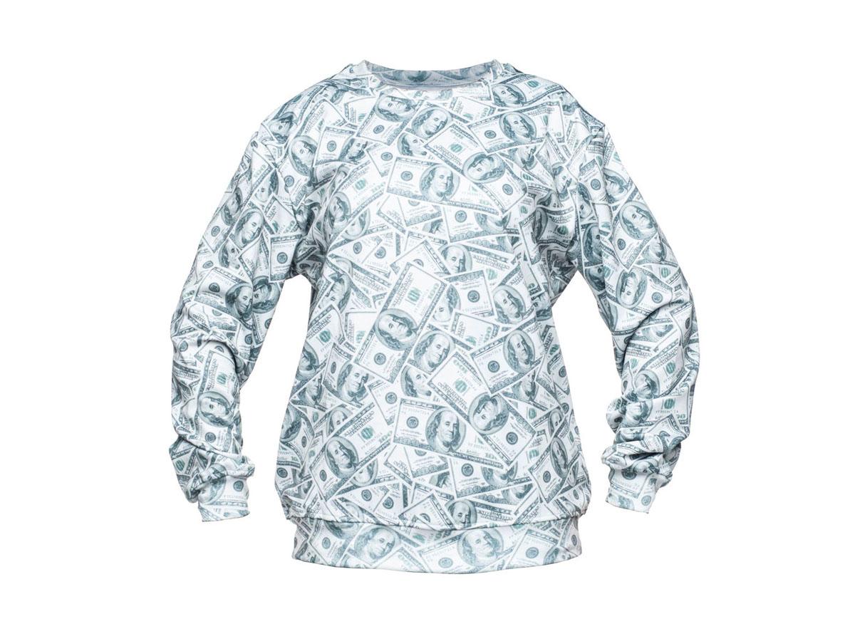 79c8b45060d2 Bluza Fullprint 3D Dolar oversize nadruk - 6822315794 - oficjalne ...