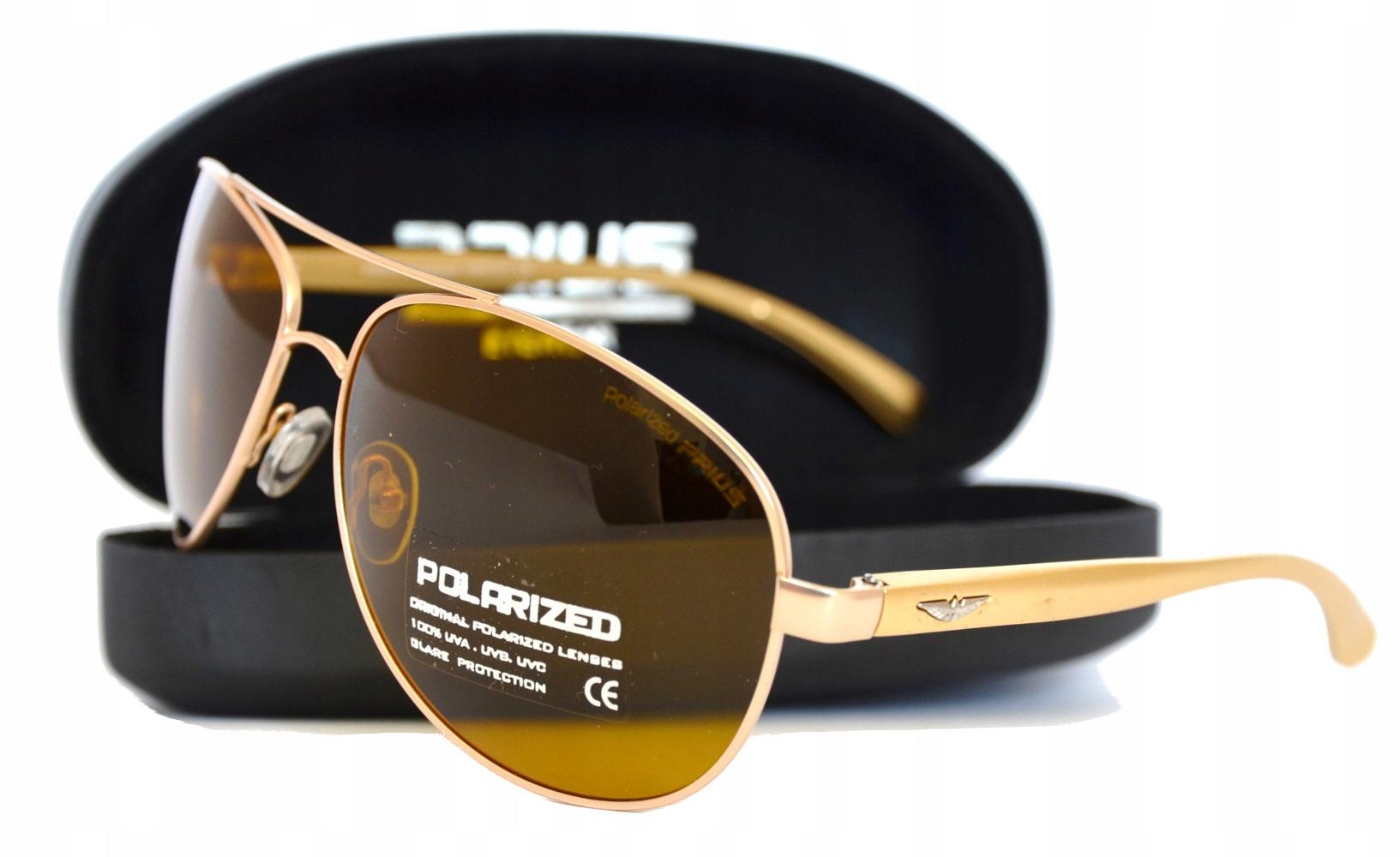 6fb69338d5f9bf Okulary Przeciwsłoneczne Polaryzacja Aviator Prius 7232132966