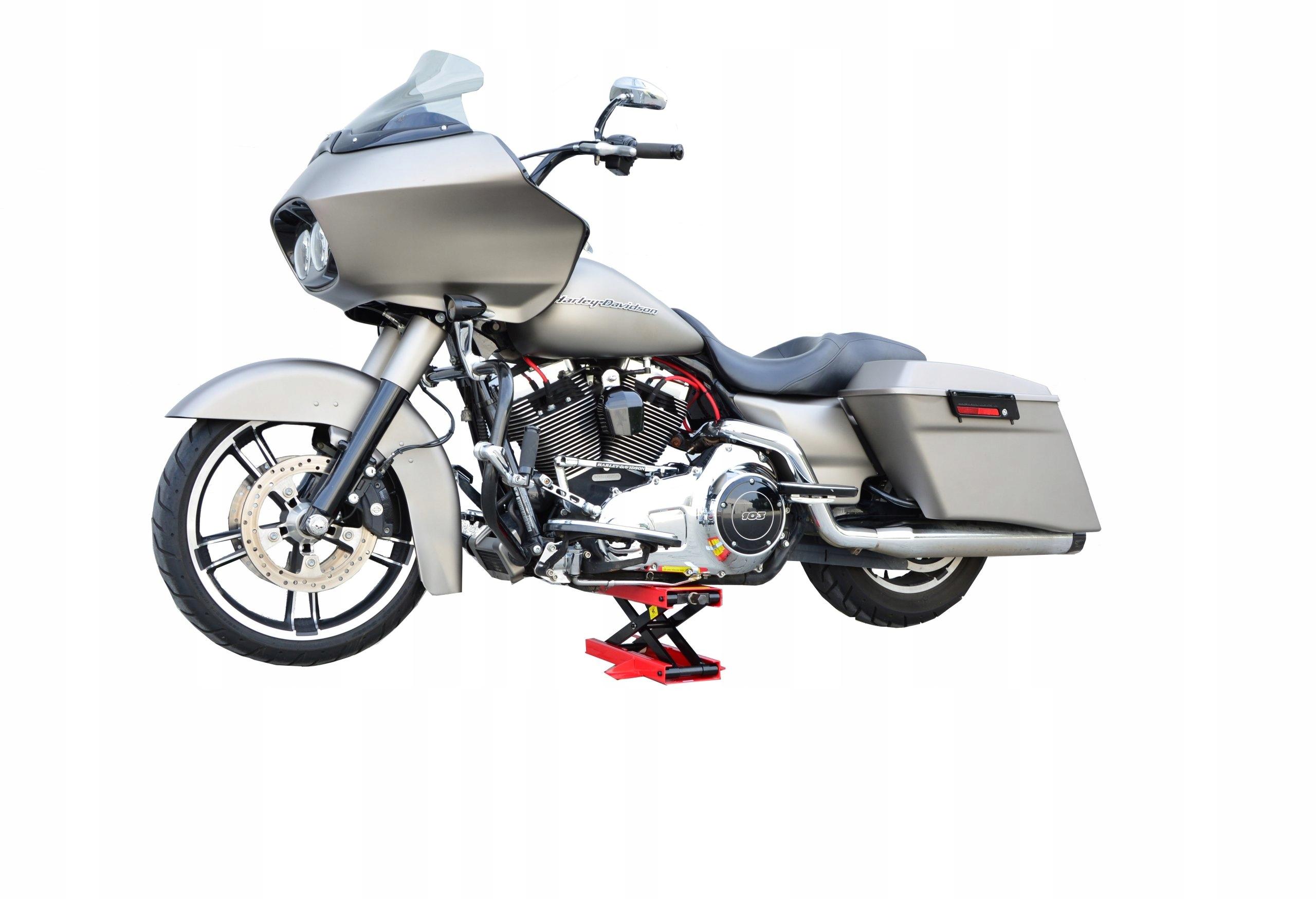 PODNOŚNIK MOTOCYKLOWY STOJAK MOTOR NOŻYCOWY 500kg