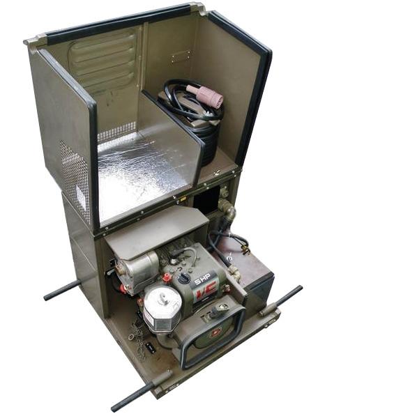 Wojskowy agregat prądotwórczy 0,3kW 24V