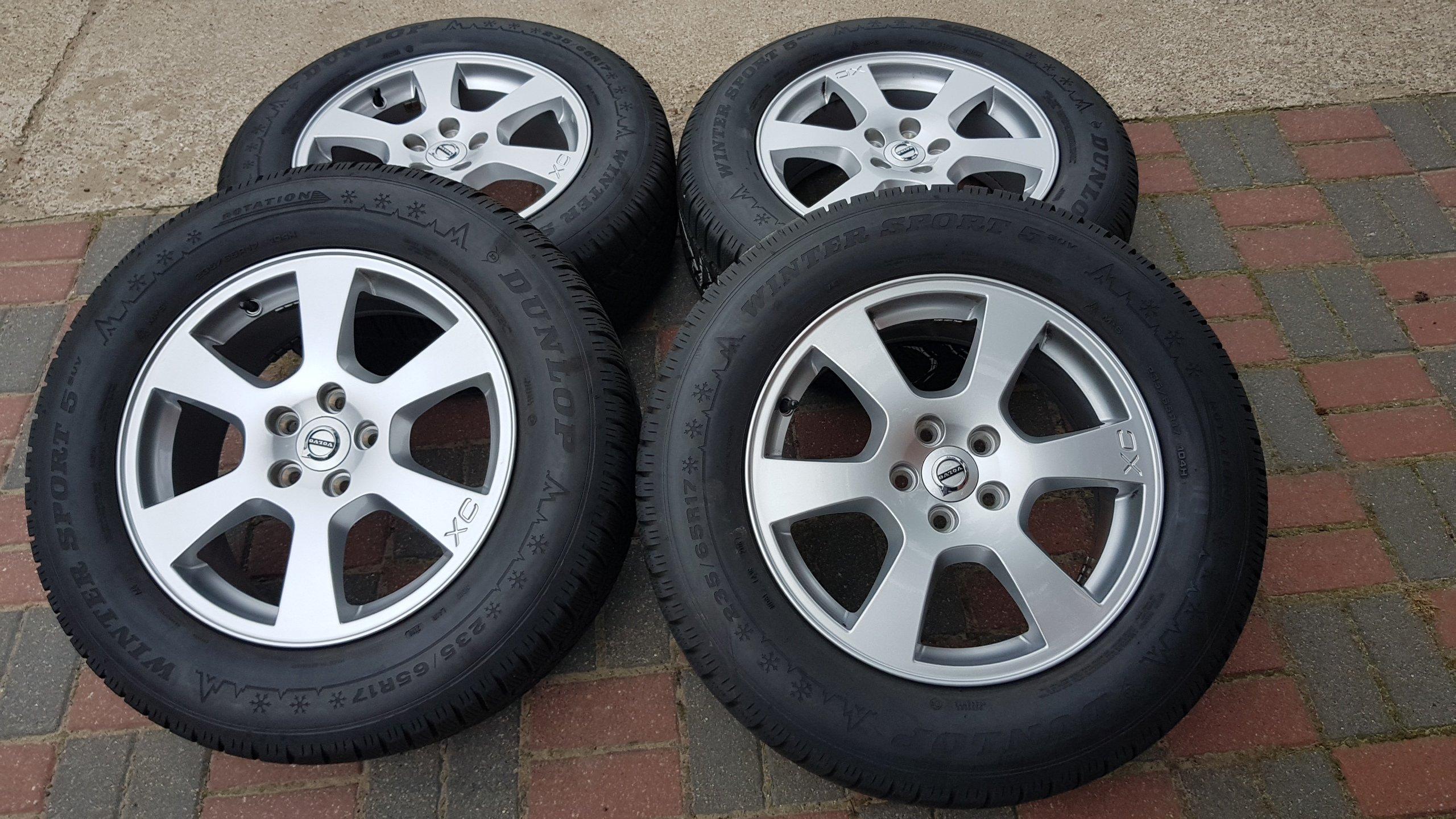Koła Felgi Volvo Xc60 Xc70 23565r17 Opona Zima 7220450639