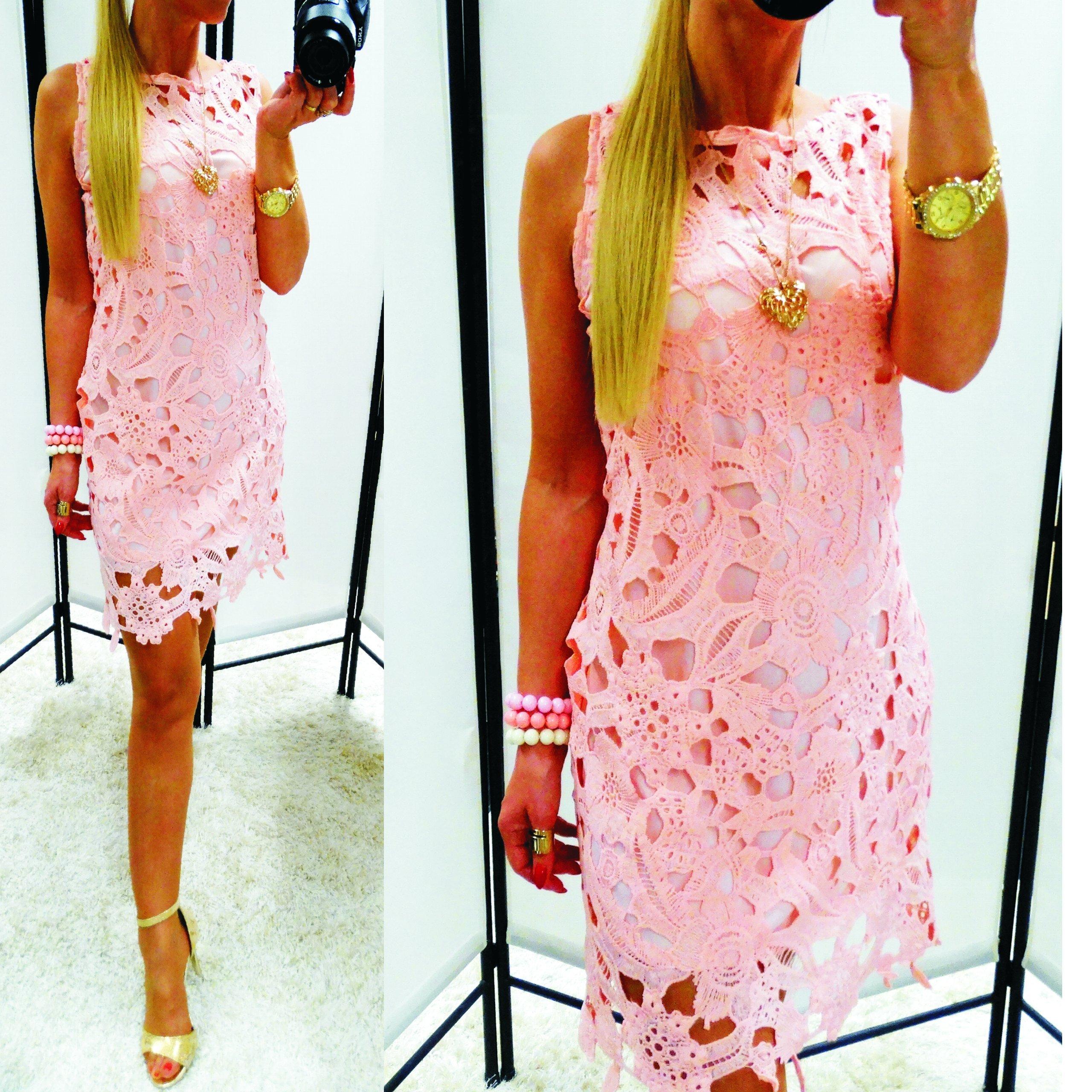7bb884fdff Gipiura haftowana koronka sukienka grube hafty S - 7353087812 ...