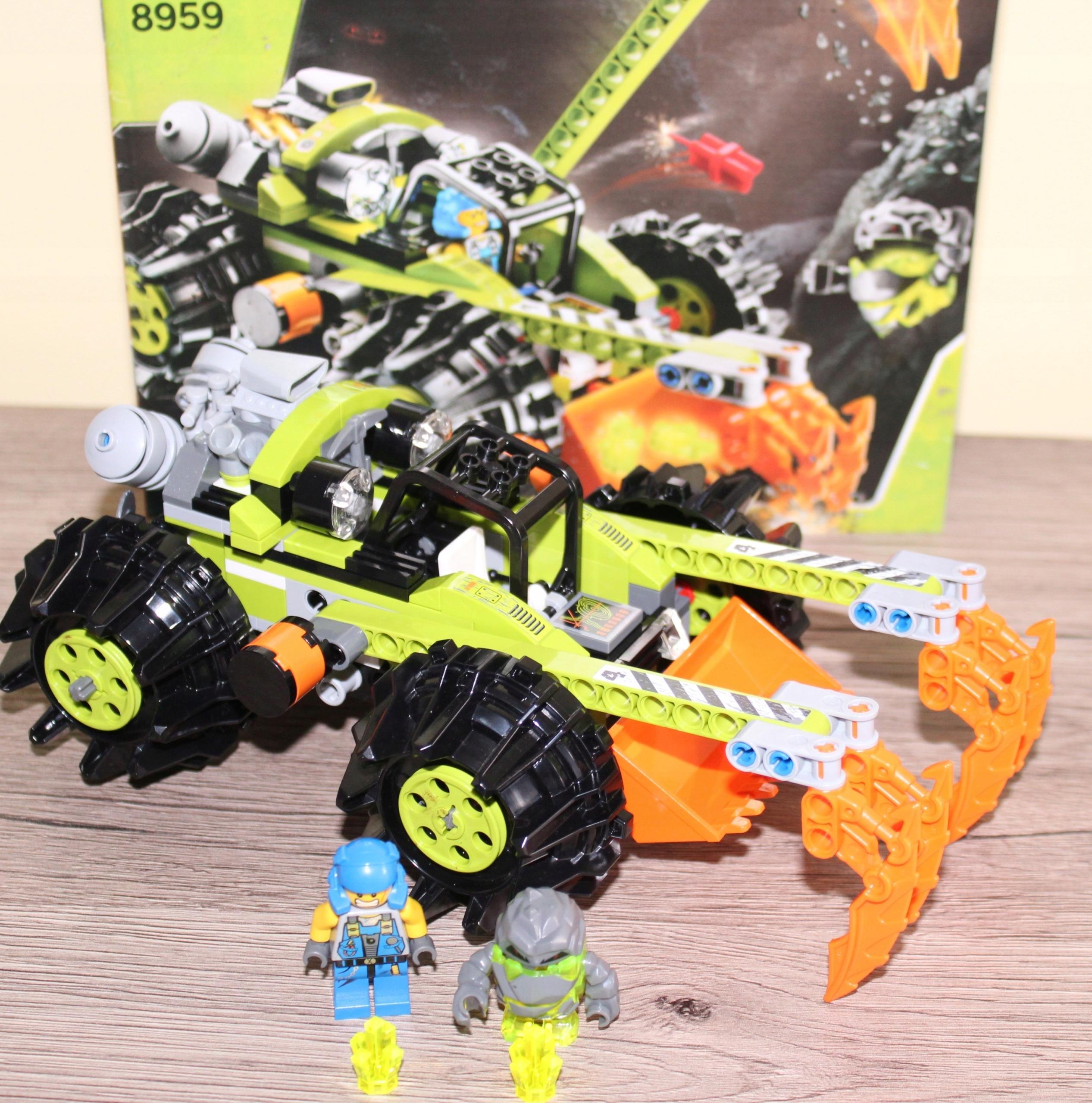 Lego 8959 1 Koparka Power Miners Instrukcja 7484318481 Oficjalne