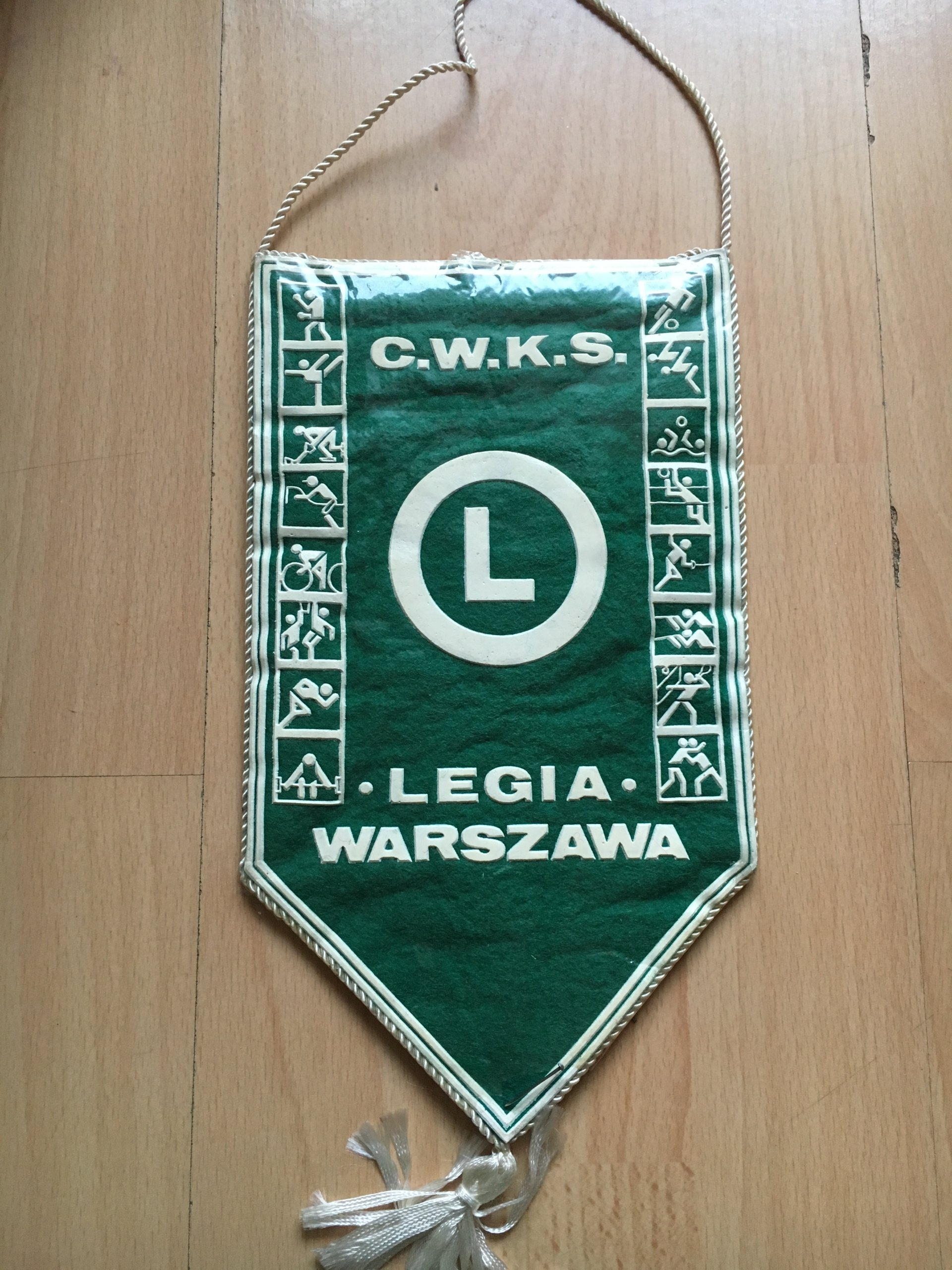 a589f0f86 CWKS LEGIA WARSZAWA PROPORCZYK - 7126482879 - oficjalne archiwum allegro