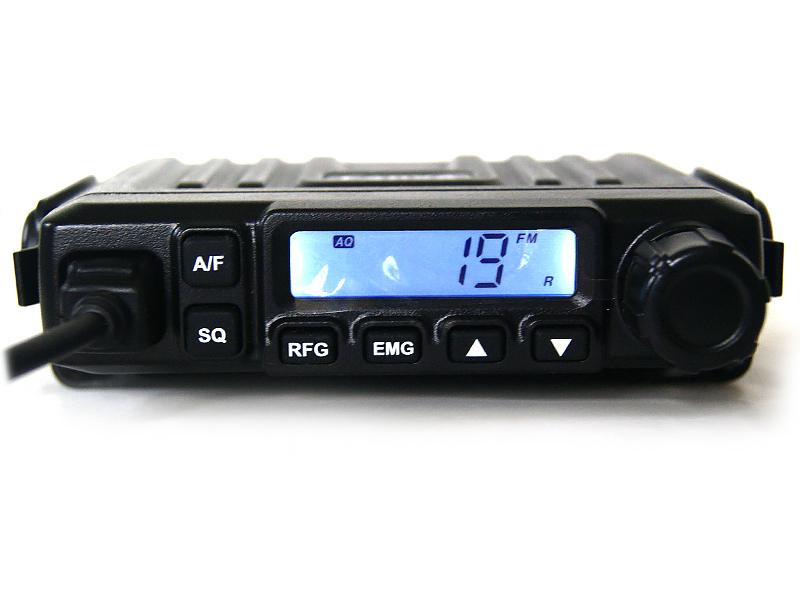 cb radio CANVA CB 538 ASQ RFGain AM/FM  + WTYK FV