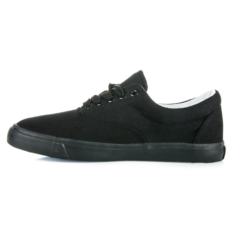 TENISÓWKI 38 czarne obuwie buty okazja 7259147327