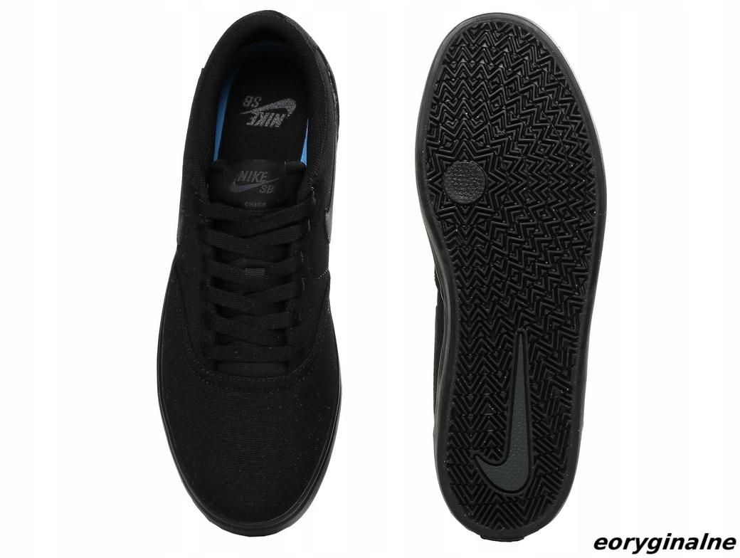 da666937d591b Buty męskie Nike SB Check Solar CNVS 843896-002 - 7409373117 ...