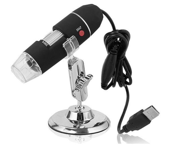 Usb mikroskop inkl halterung und led beleuchtung gwerder