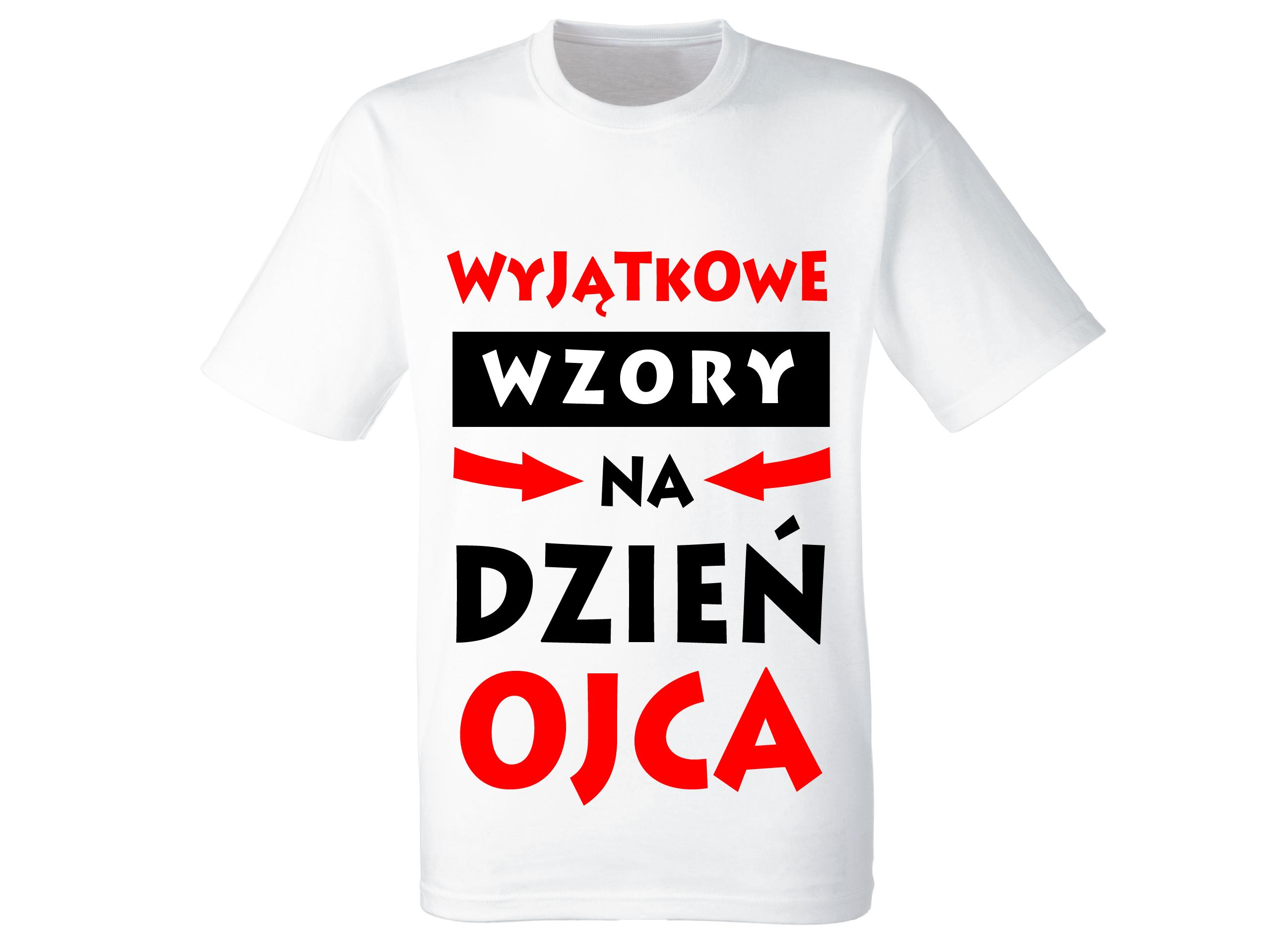 4d5c838a8e0f63 Koszulka Dzień Ojca Prezent Dla Taty Wzory S - 7324356126 ...