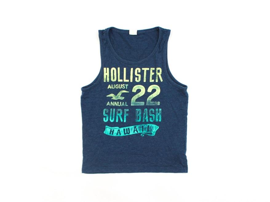 D Hollister Koszulka Męska Bez Rękawów Tank Top S
