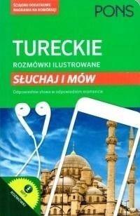 Rozmówki ilustrowane. Słuchaj i mów - turecki