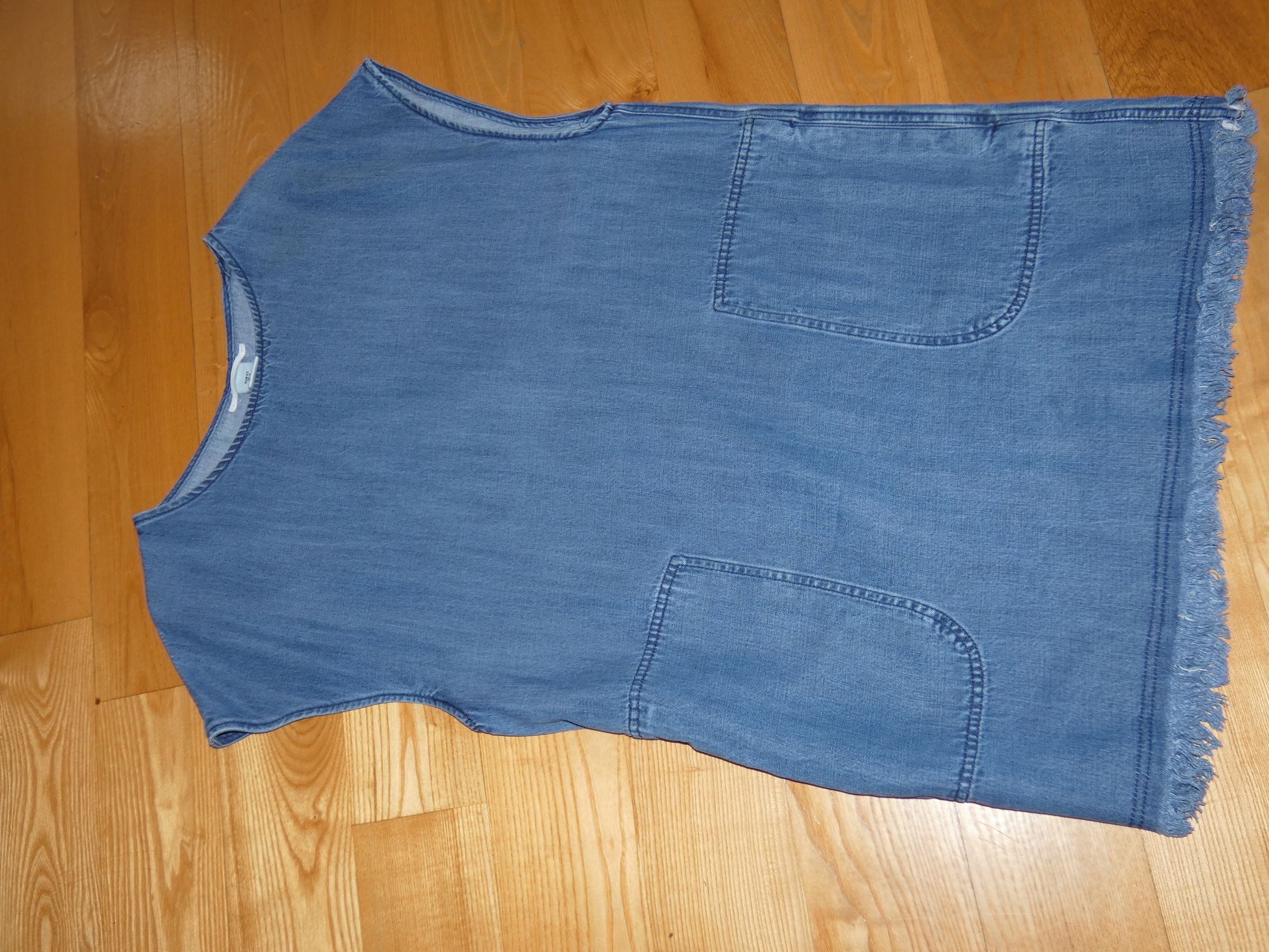 f2c21755fb H M dżinsowa tunika sukienka 14  42 - 7579228732 - oficjalne ...