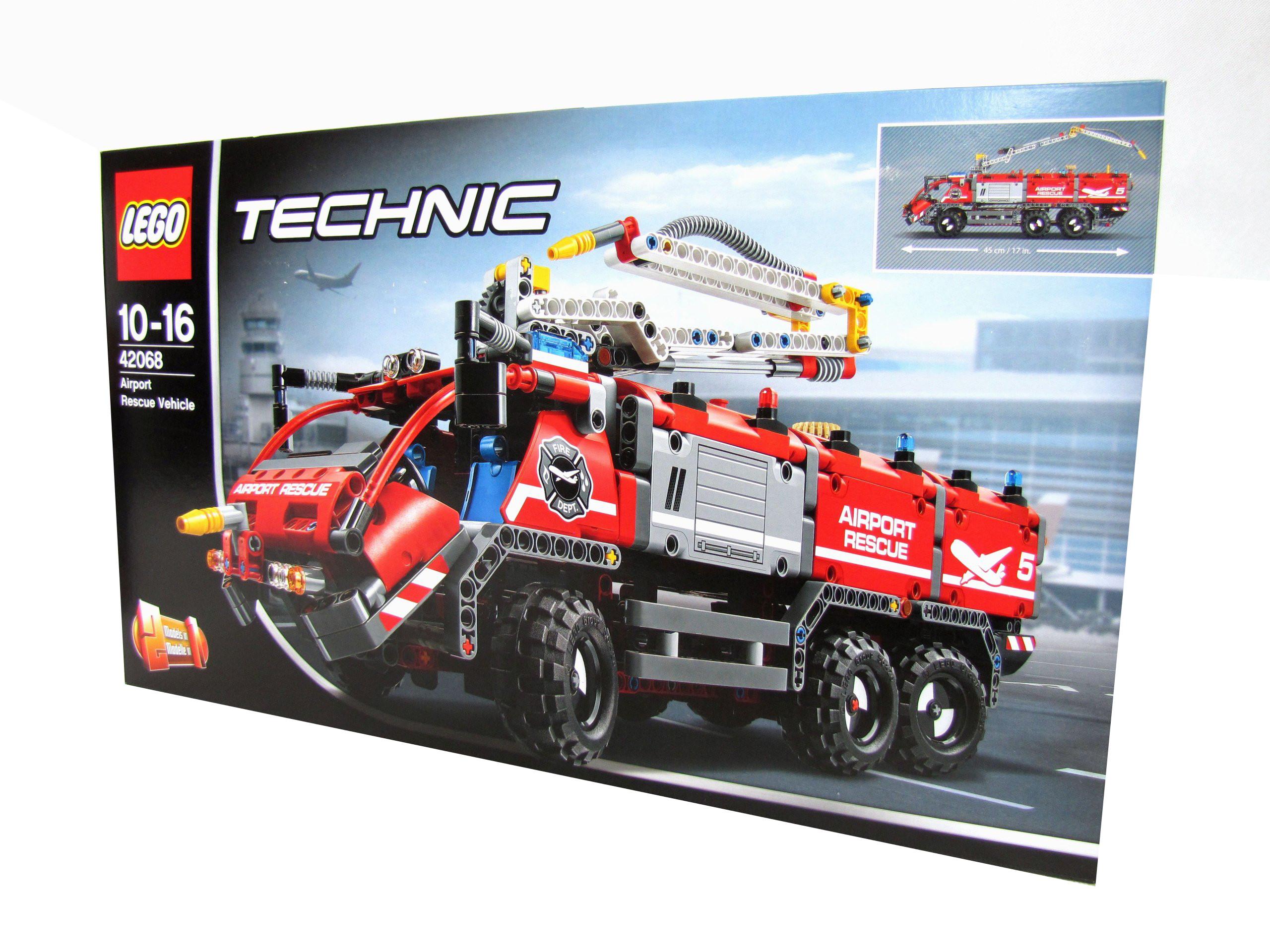 Klocki Lego Technic Straż Pożarna Wóz Strażacki Rb 6975802349