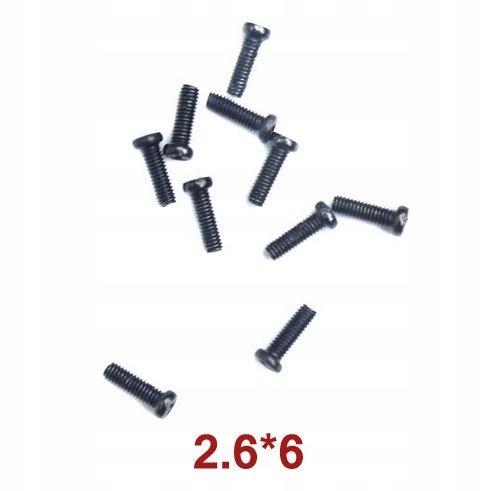 Round Head Self-Drilling Screw 2.6x6 Wl Toys A949-