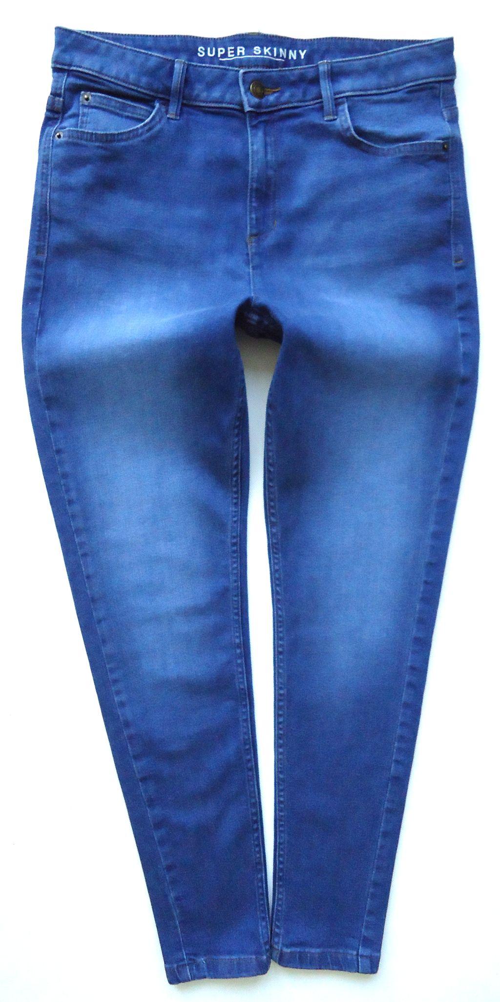 8de13eba3f66 M S jeansy rurki SKINNY wysoka talia 42 44 - 7319267388 - oficjalne ...