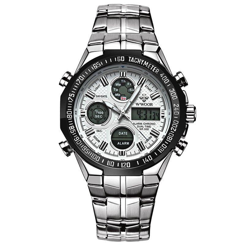 Sportowy Zegarek męski elektroniczny klasyczny