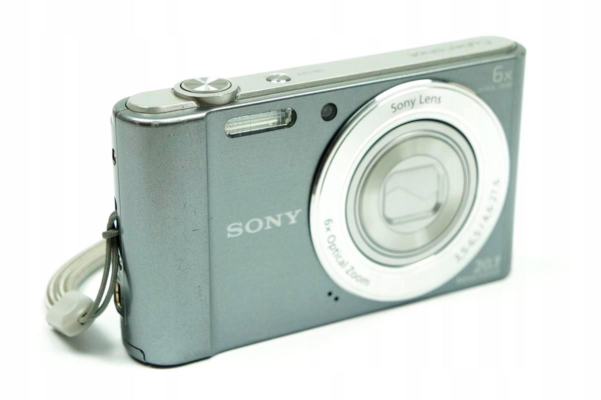 Aparat Cyfrowy Sony Cyber Shot Dsc W810 Srebrny 7428039072
