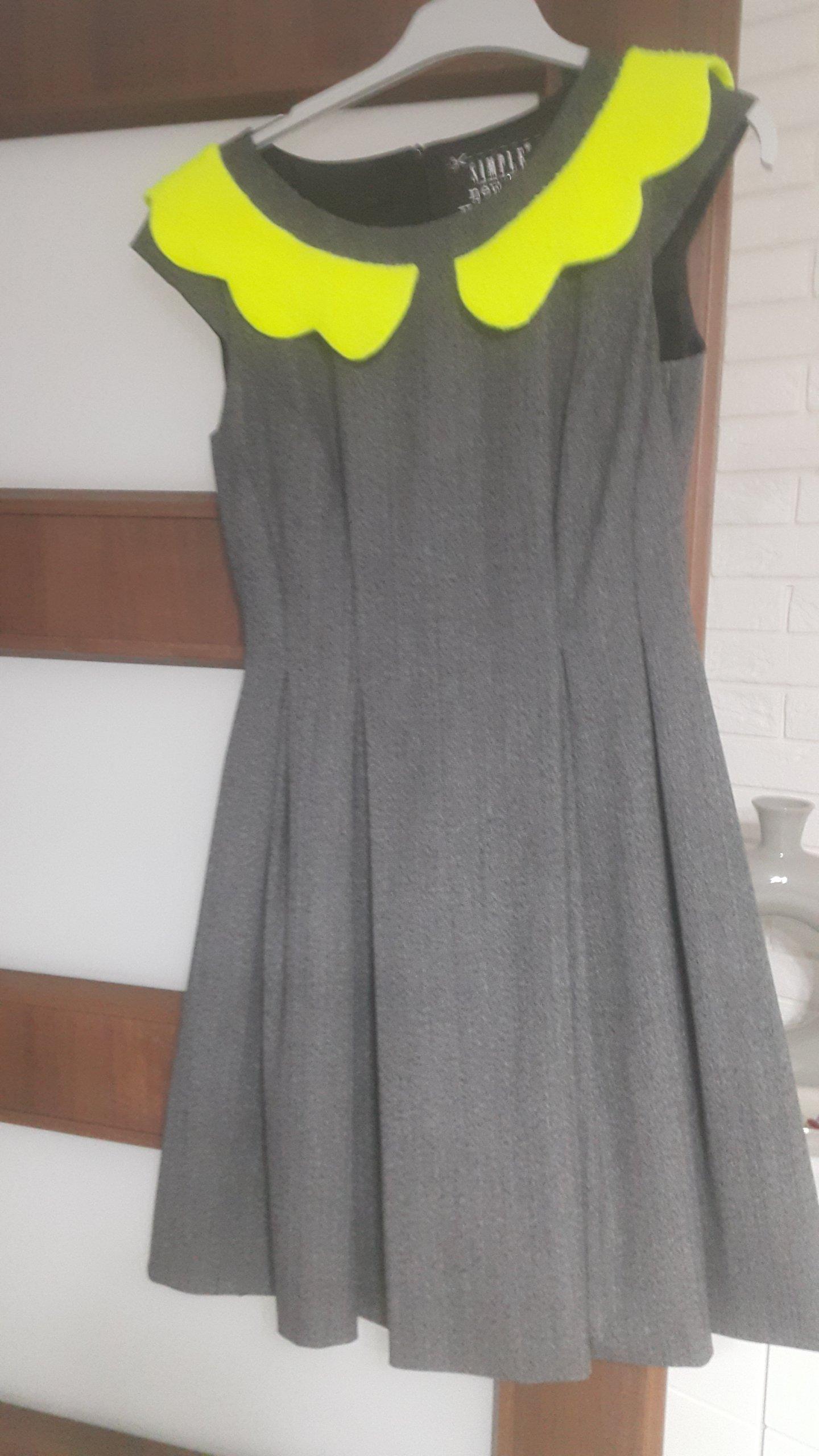 9199bb9cbe sukienka simple - 7023743444 - oficjalne archiwum allegro