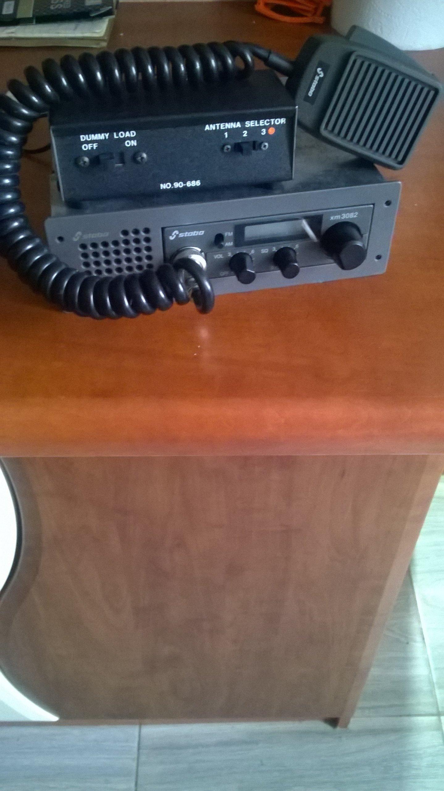 STABO XM-3082+kieszeń din1+przełącznik anten