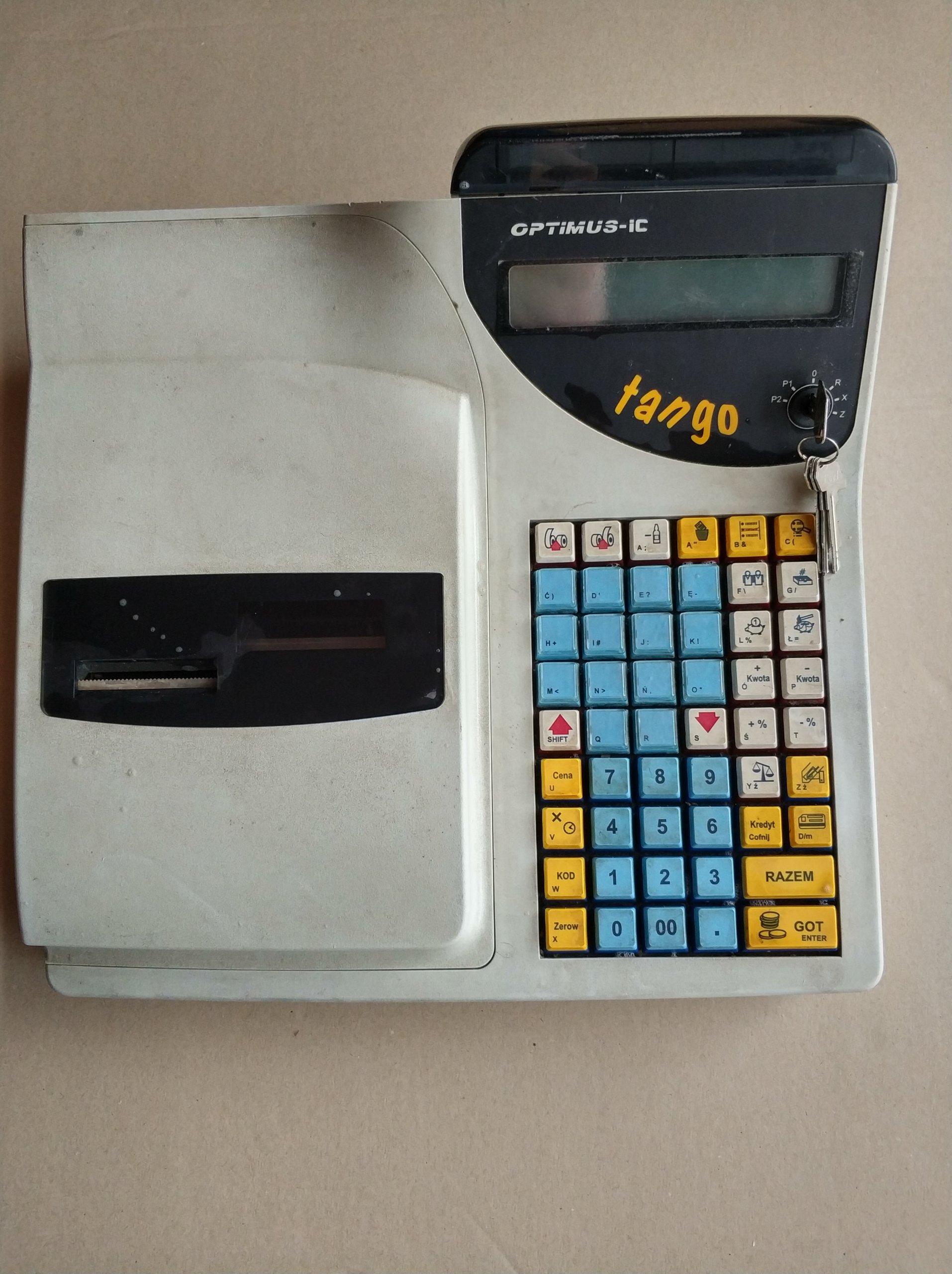 Rewelacyjny Kasa fiskalna OPTIMUS Tango Termik - 7314048510 - oficjalne GL03