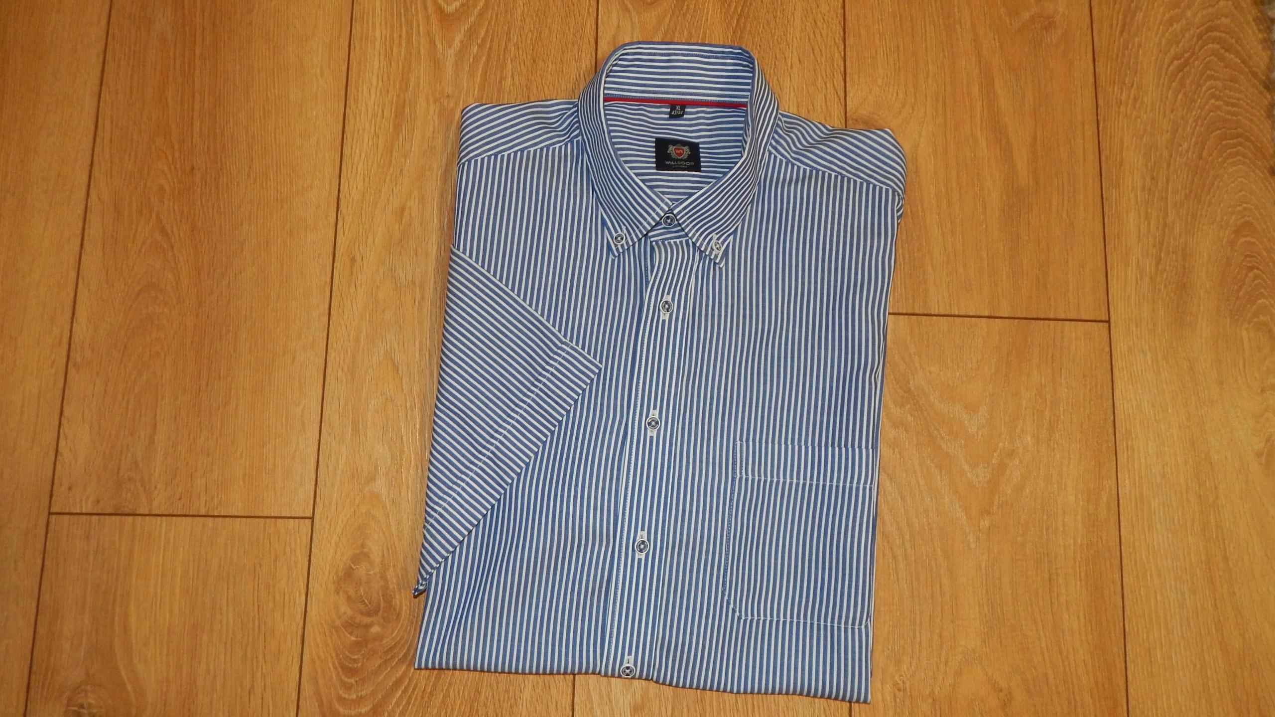 46706ec387dd3f Willsoor koszula krótki rękaw XL (43/44) - 7555203695 - oficjalne ...