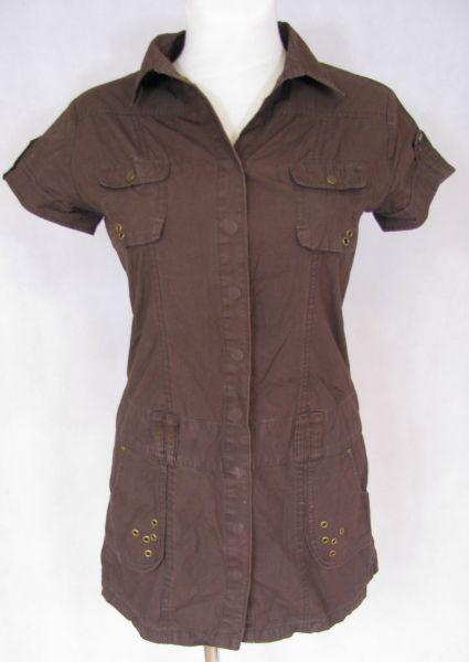 36e2380513 Efektowna letnia rozpinana sukienka M - 7089492710 - oficjalne ...