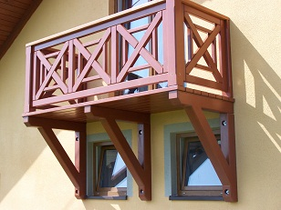 Balkon Drewniany Nowoczesne Wzory 7346151888 Oficjalne