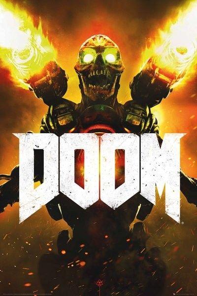Doom Key Art - plakat