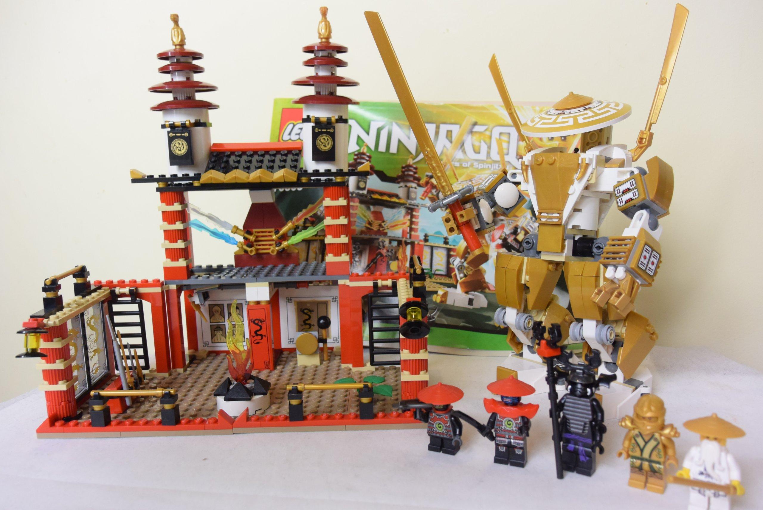 Klocki Lego Ninjago 70505 świątynia światła Zestaw 7197645181