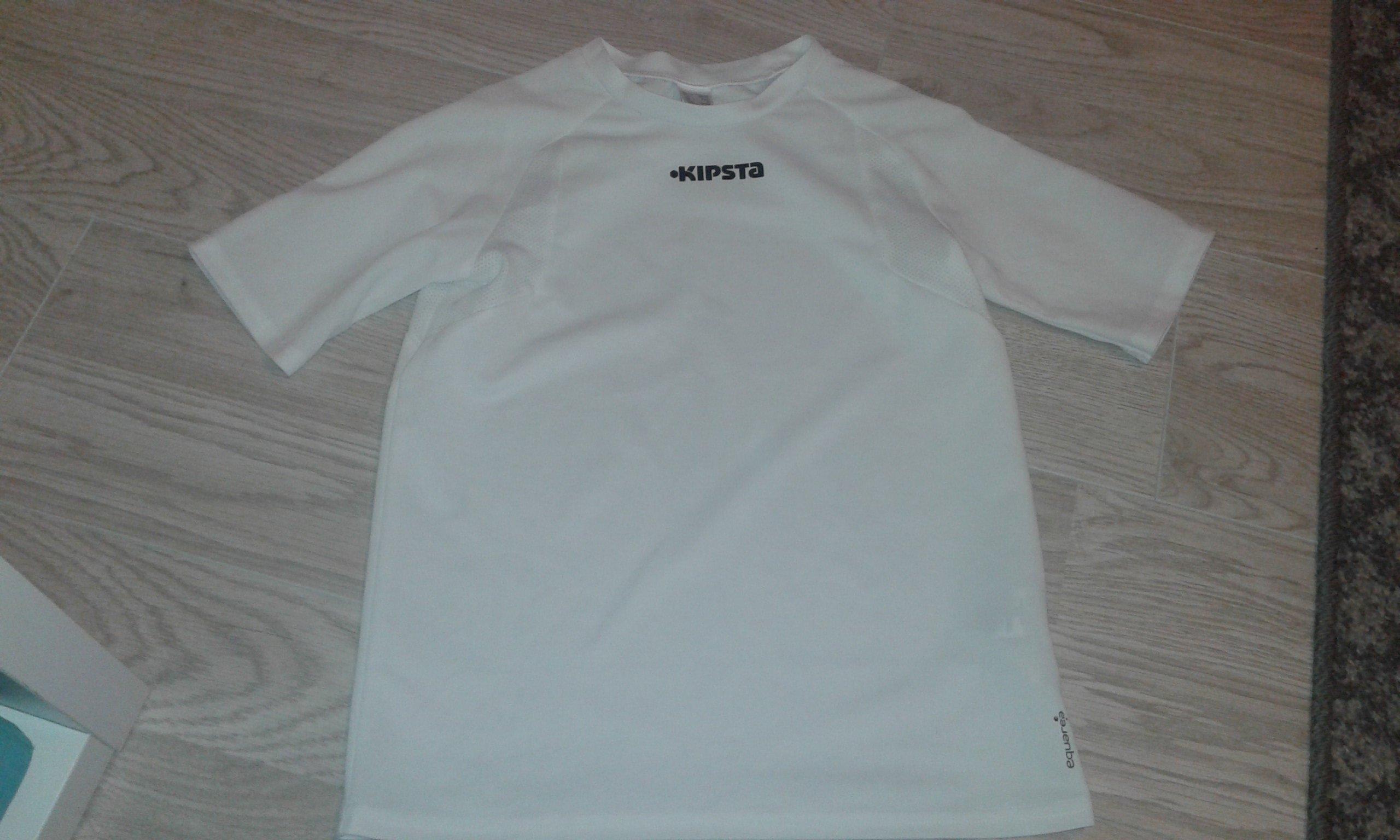 4c9167f70 koszulka piłkarska decathlon 8 lat..... jak nowa - 7517041410 ...
