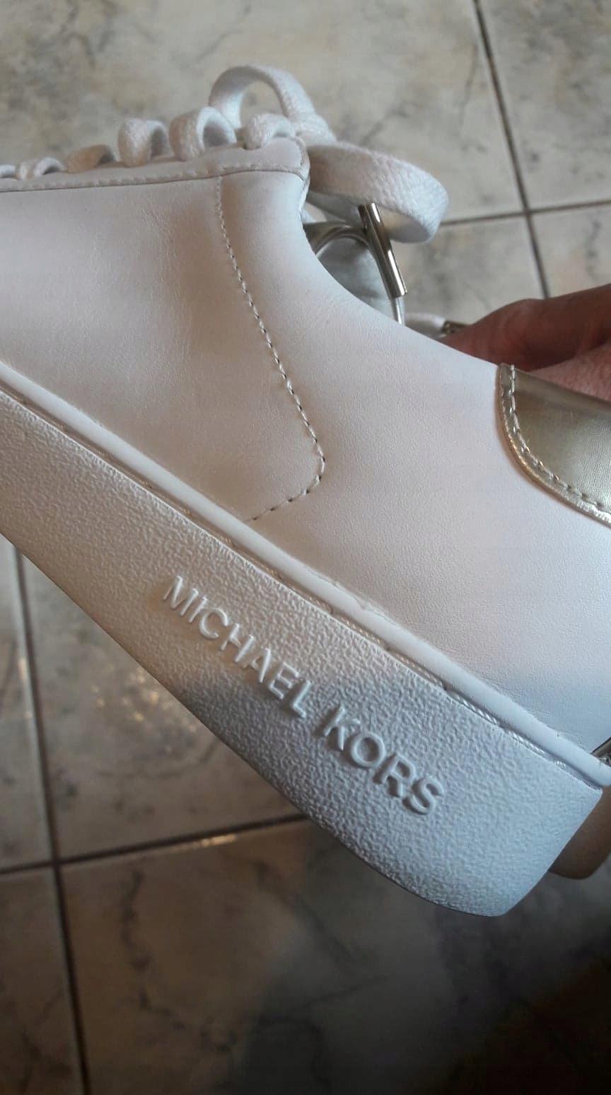 8902e94c30860 Michael Kors - trampki sneakersy, skóra, rozm.39 ! - 7525413773 ...