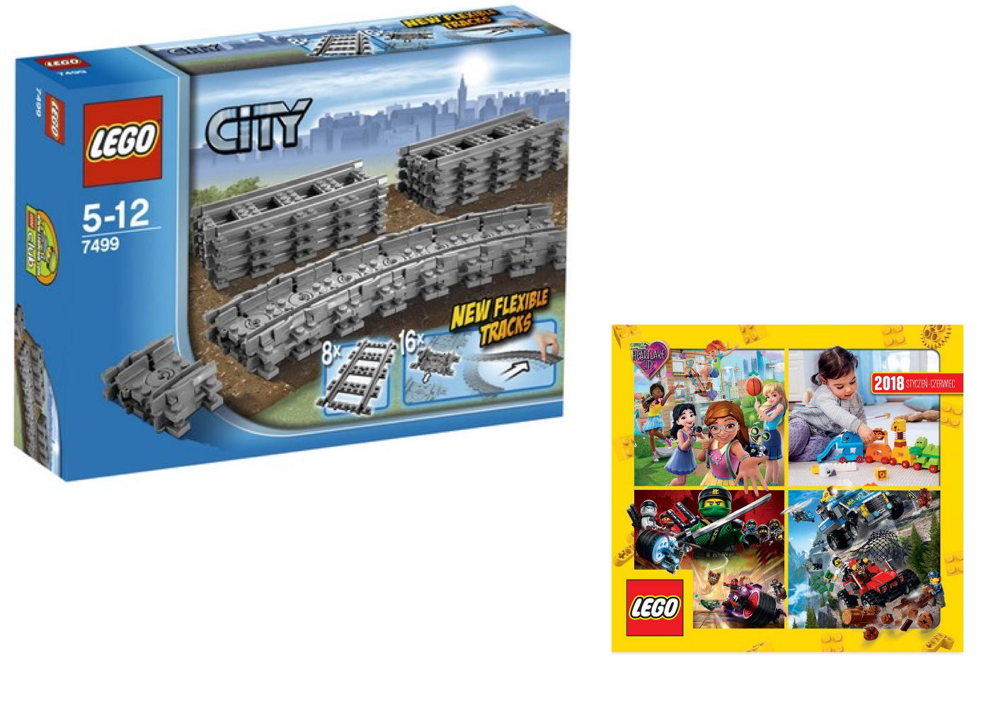 Lego City 7499 Elastyczne Tory Katalog 2018 7158105011