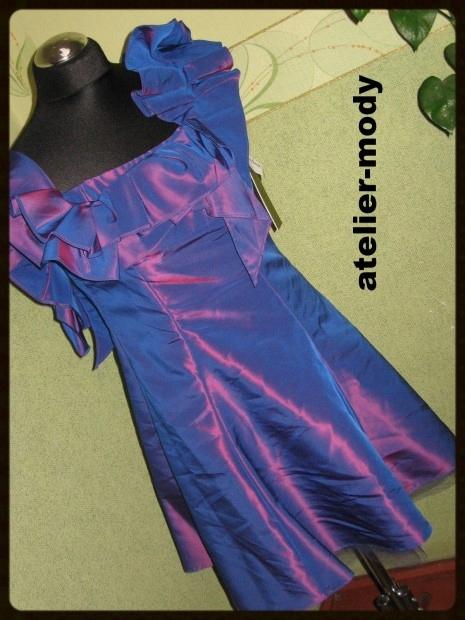 2ea1594711 Nicole Miller Sukienka 36 s Bankietowa Wesele - 7161381405 ...