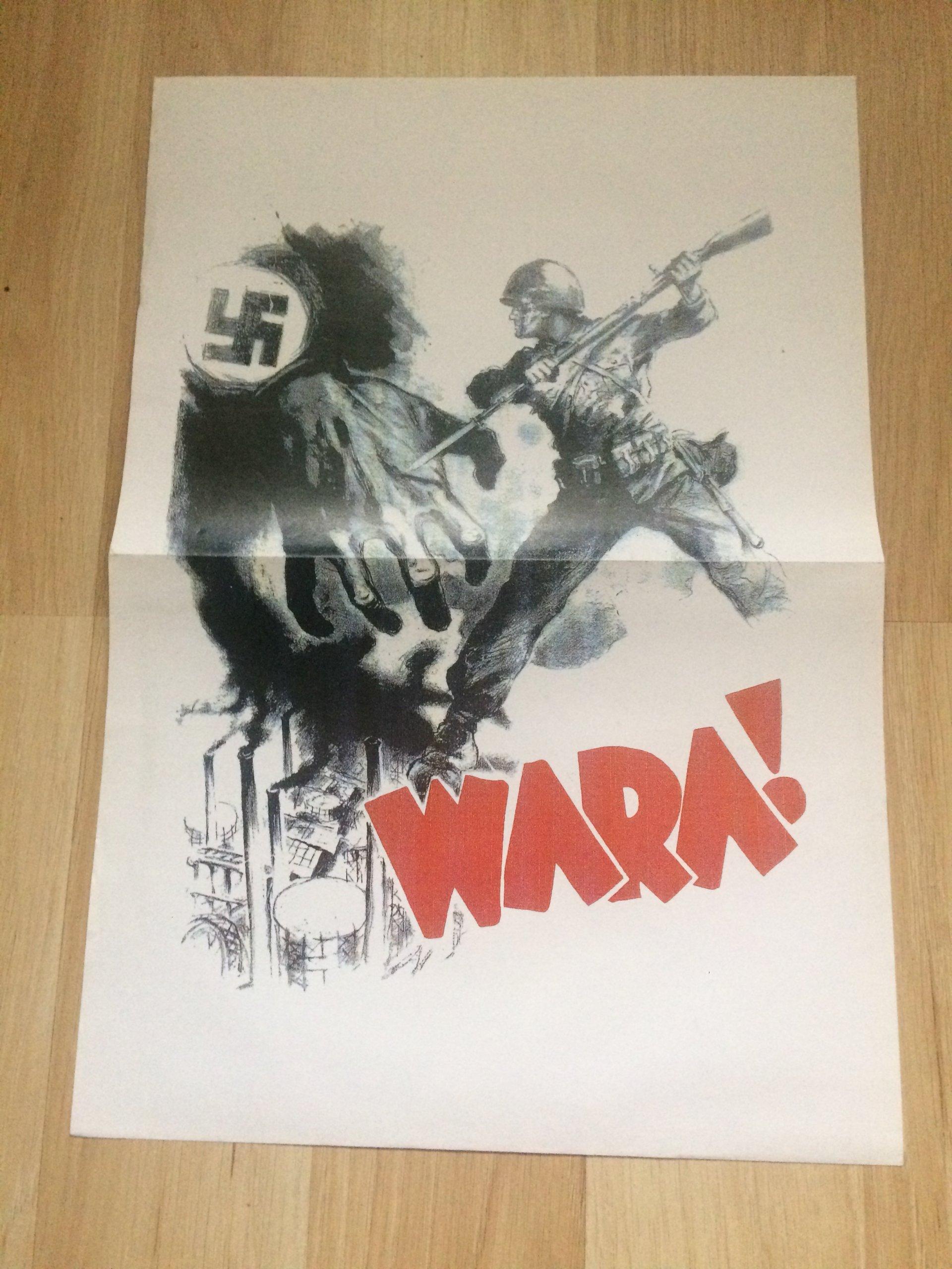 Wara Plakat Propagandowy 7182396432 Oficjalne Archiwum