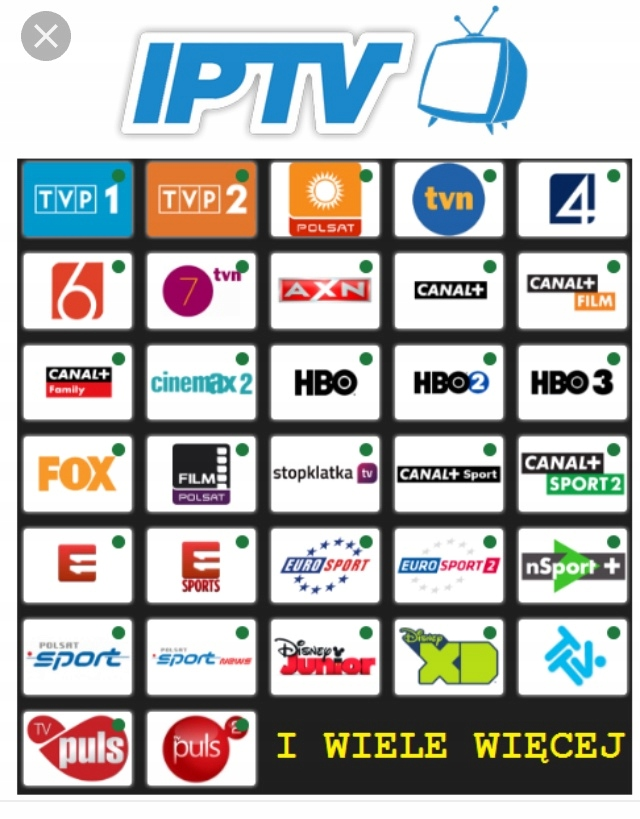 HIT!! IPTV 120 PL kanałów cena 6 miesiący - 7458166977 - oficjalne