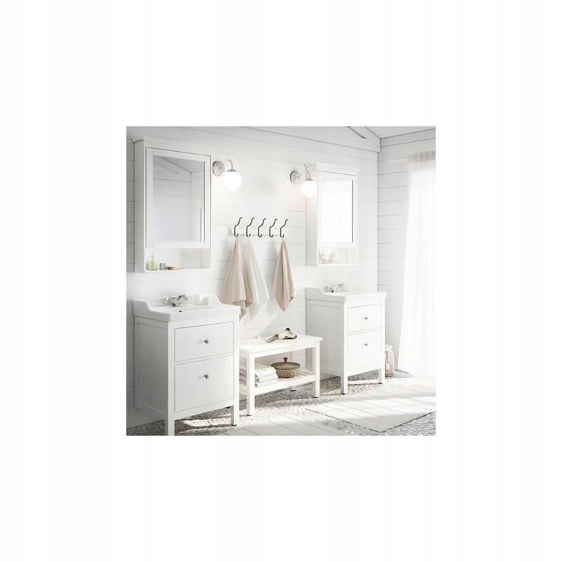 Ikea Hemnes ławka łazienki Przedpokoj Korytarz But