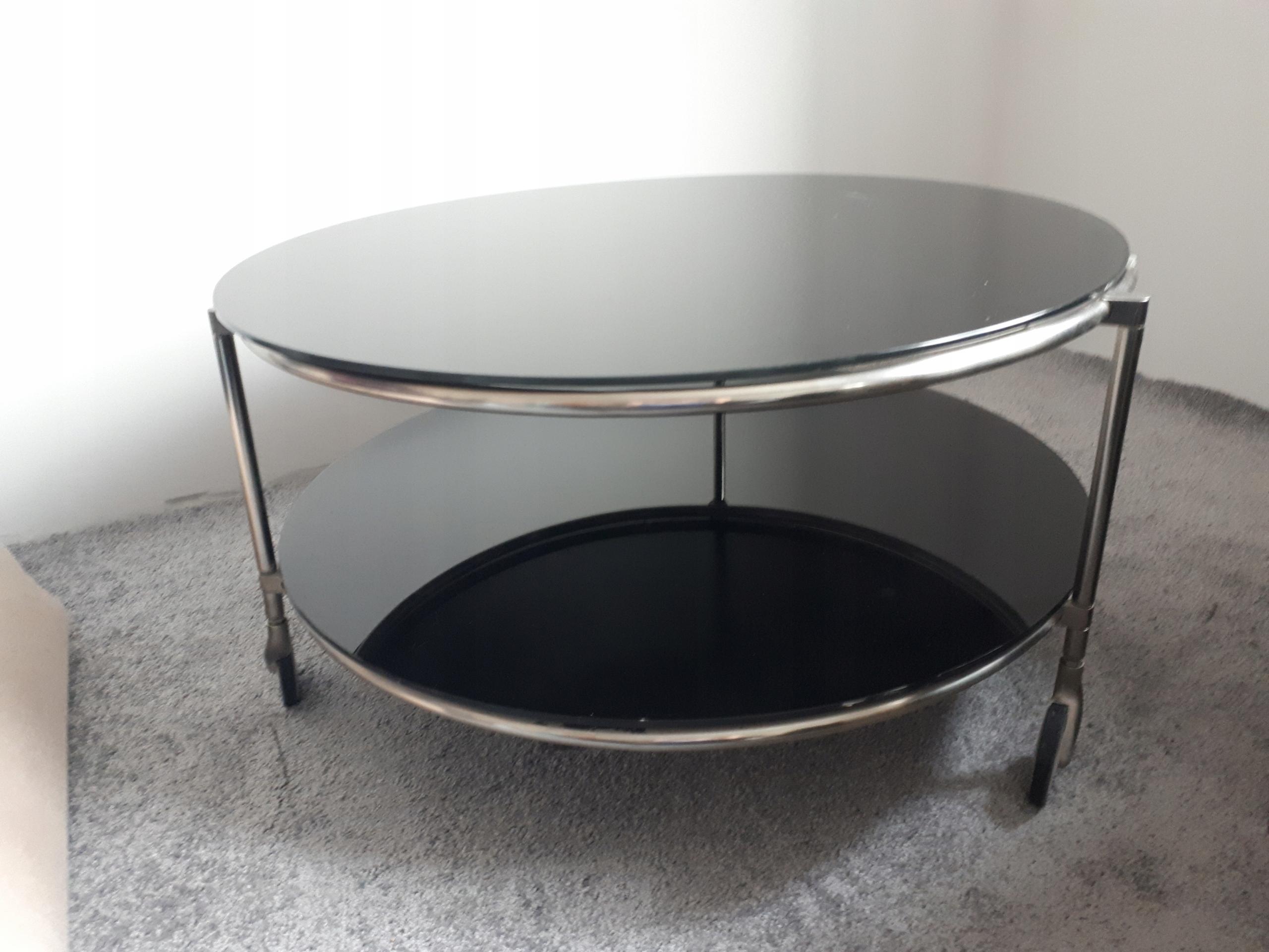Stolik Kawowy Ikea Czarne Szkło